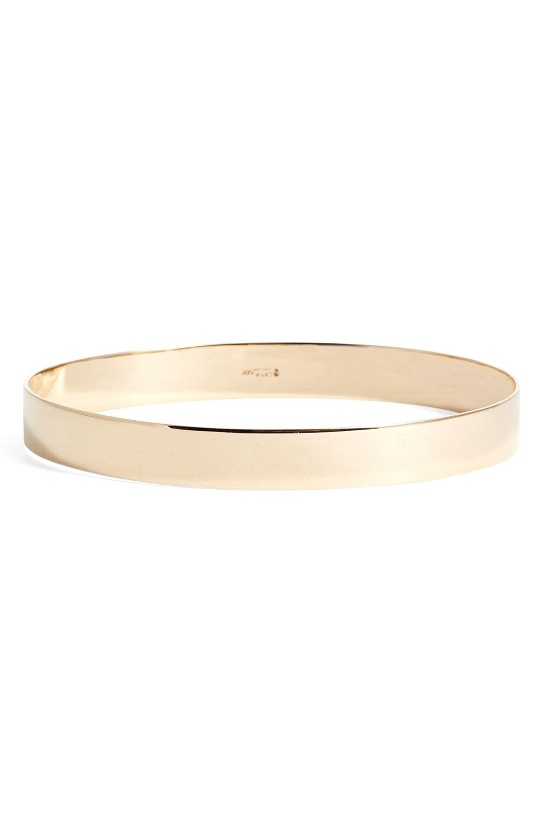 'Nude' Large Bangle,                         Main,                         color, Yellow Gold