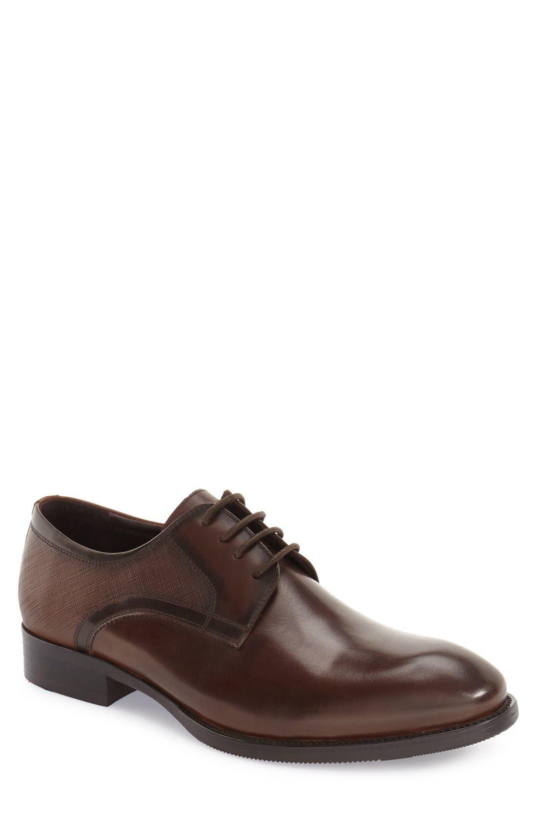 Zanzara 'Bruckner' Plain Toe Derby (Men)