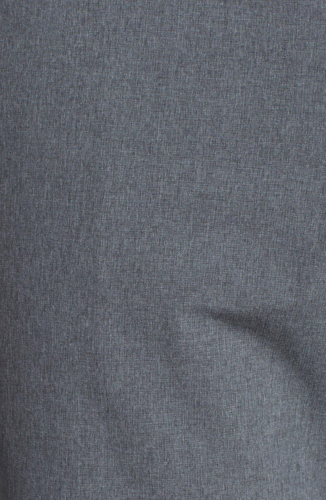 Bainbridge DryTec Flat Front Shorts,                             Alternate thumbnail 3, color,                             Iron Grey