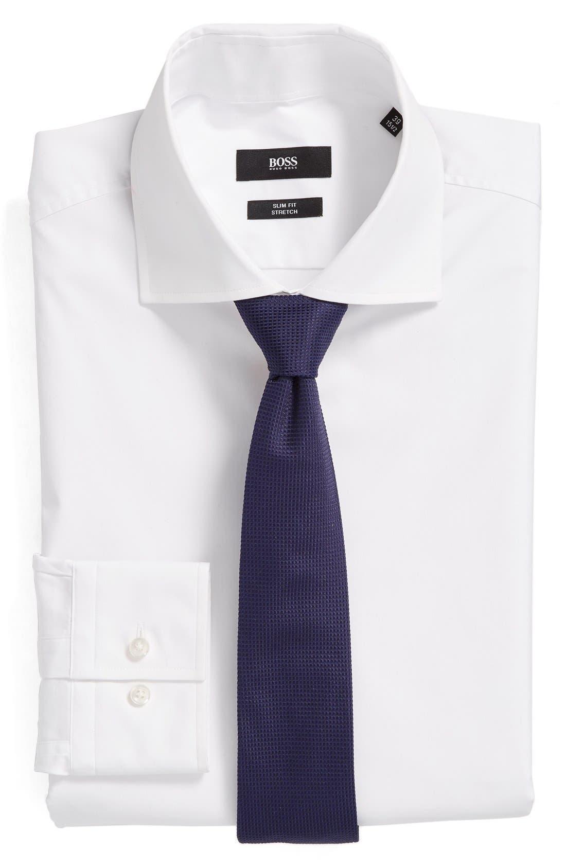 Alternate Image 3  - BOSS 'Jaron' WW Slim Fit Dress Shirt