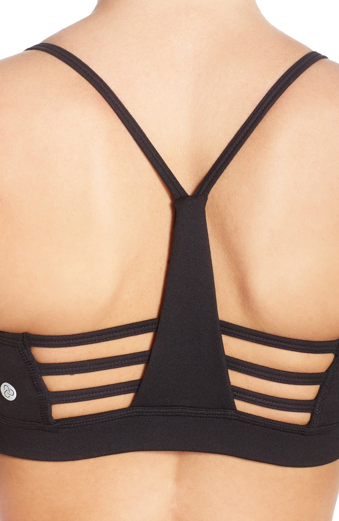Alternate Image 4  - Zella 'Starlight' Racerback Sports Bra