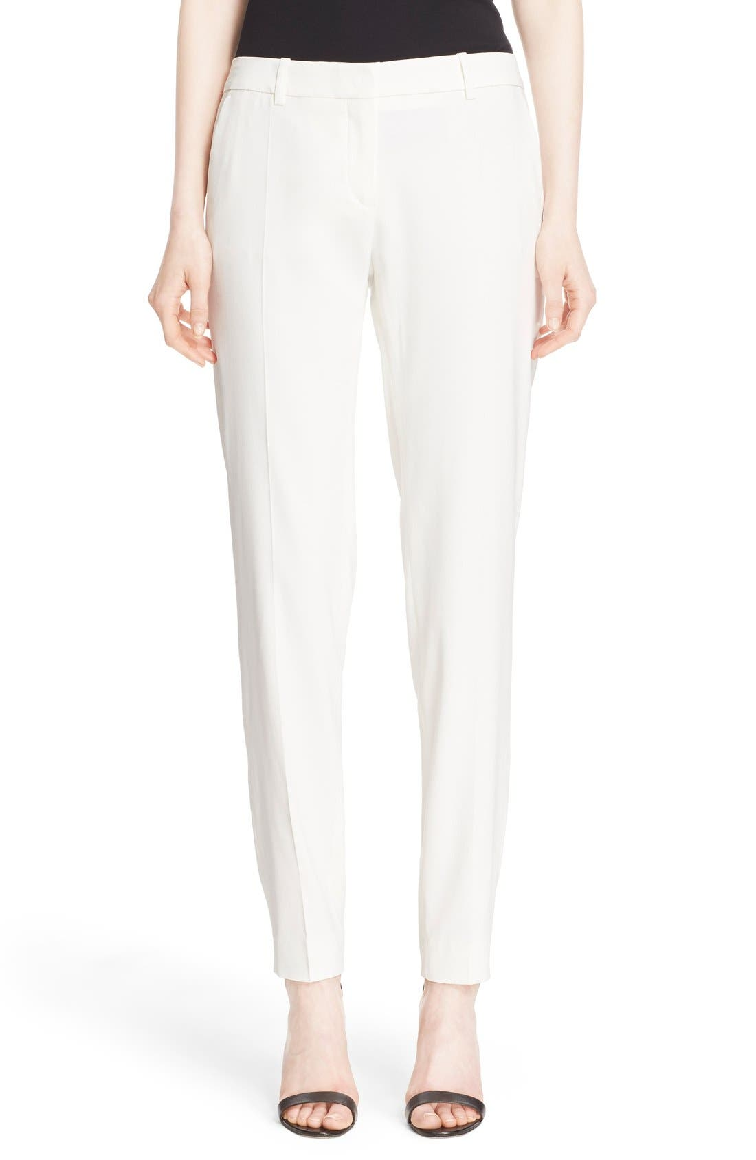 Alternate Image 1 Selected - The Kooples Stretch Crepe Ankle Pants