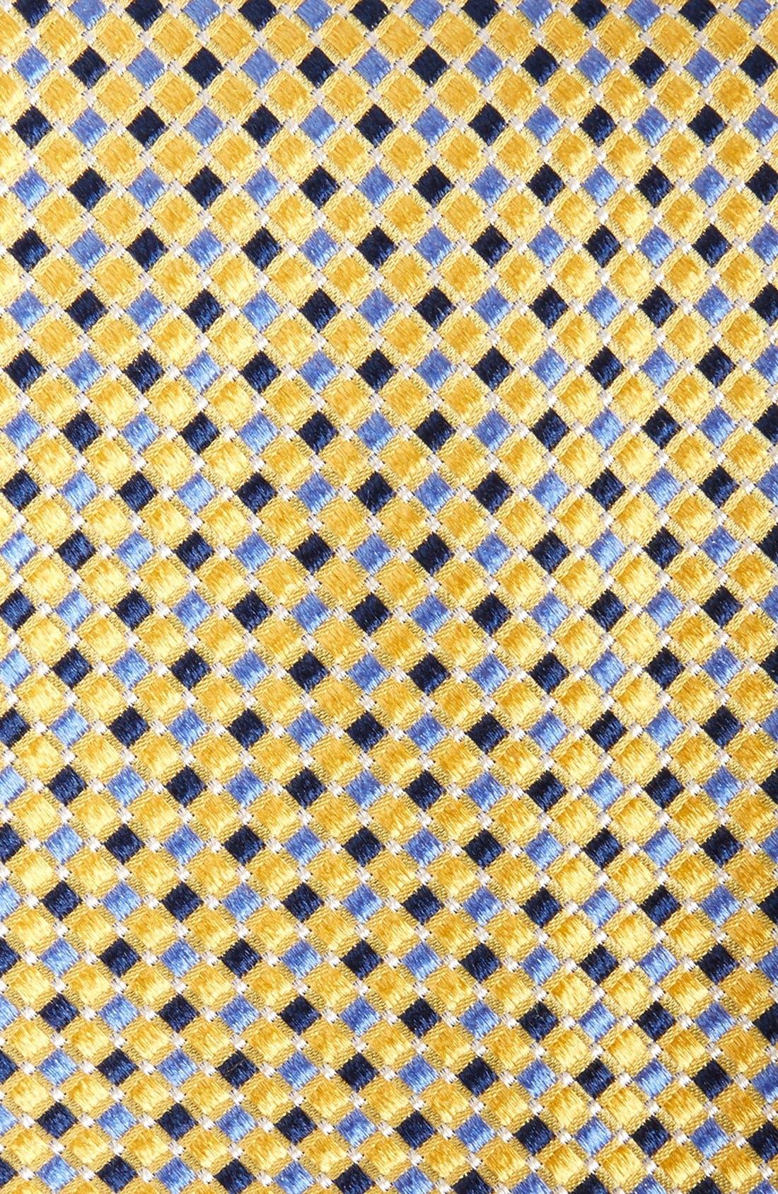 Alternate Image 2  - Nordstrom Men's Shop Geo Pattern Silk Tie