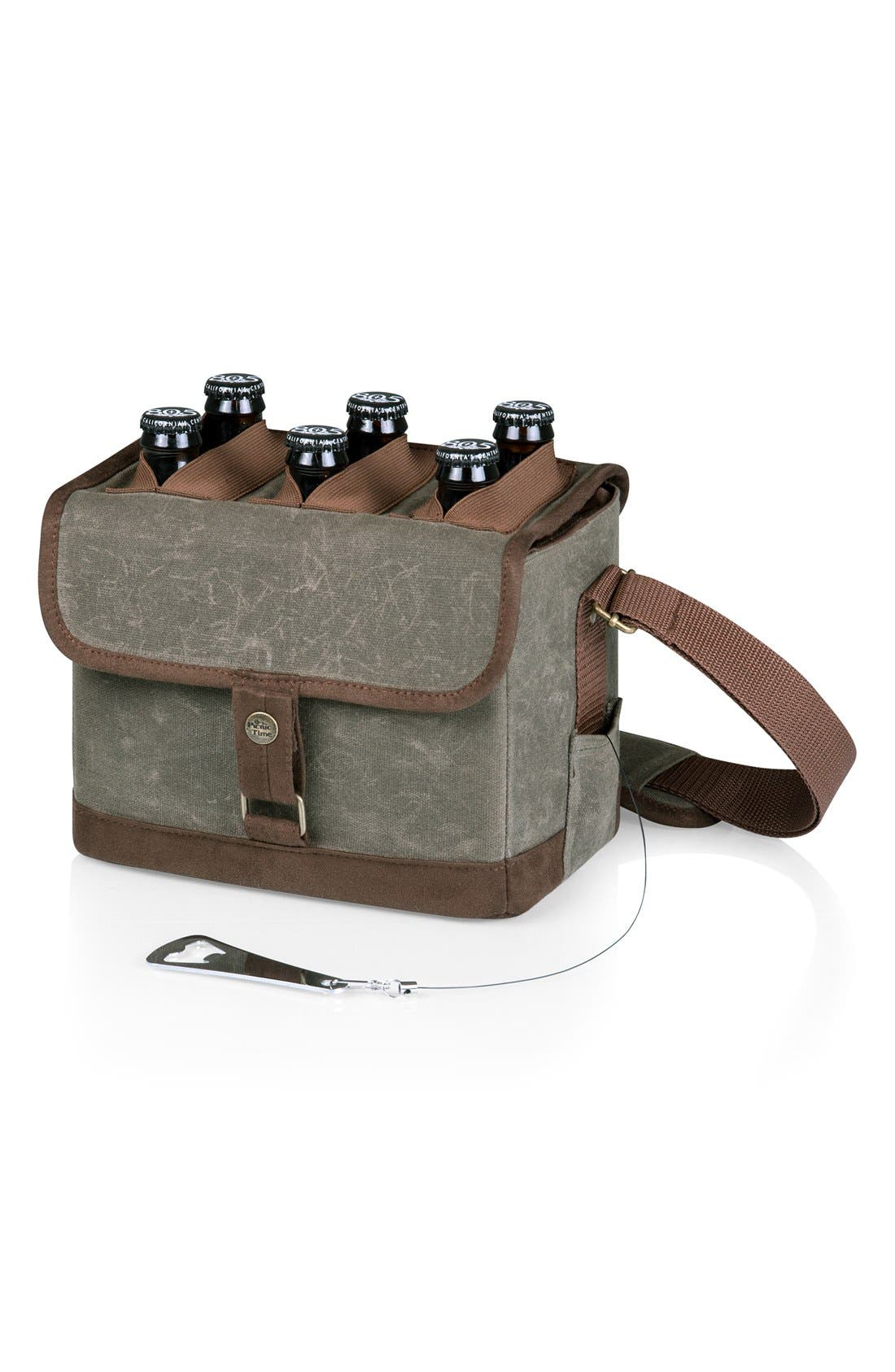 Alternate Image 1 Selected - Picnic Time Six-Pack Insulated Cooler