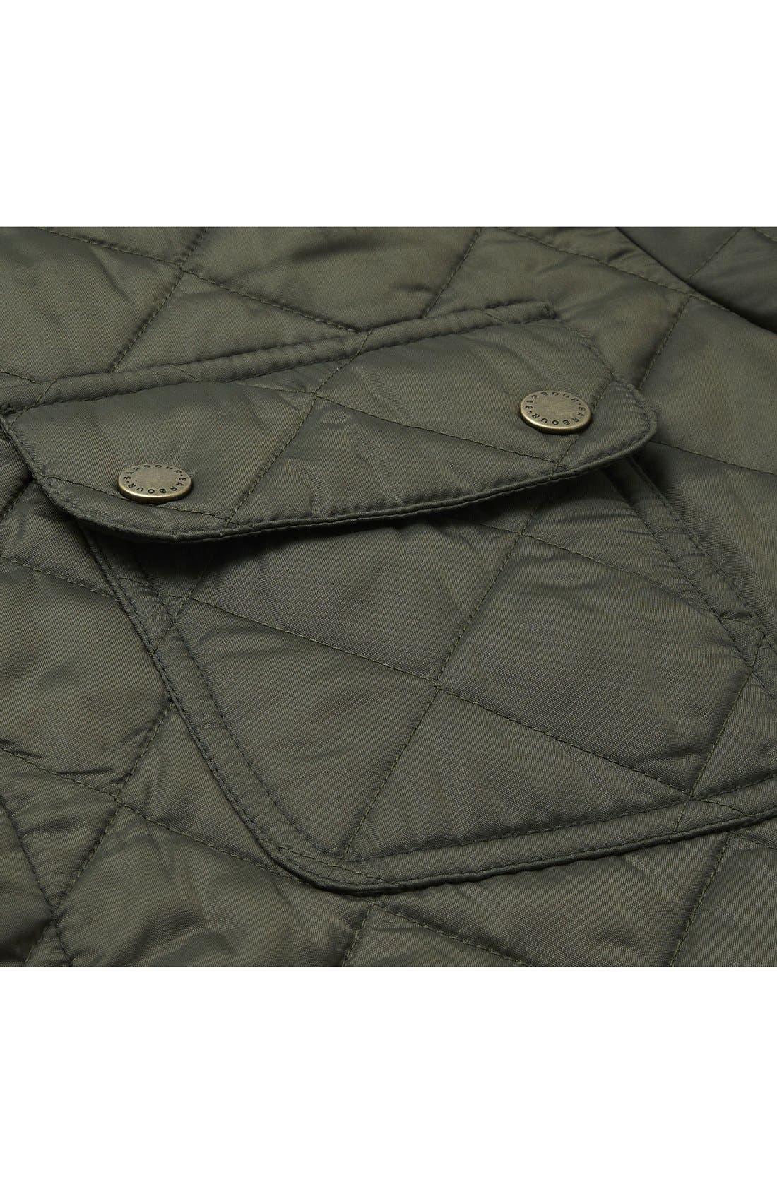 Alternate Image 6  - Barbour 'Tinford' Regular Fit Quilted Jacket