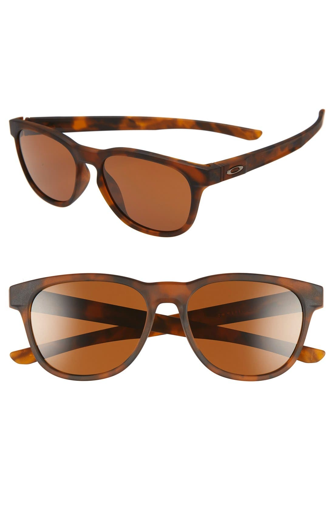 'Stringer' 55mm Sunglasses,                             Main thumbnail 1, color,                             Brown