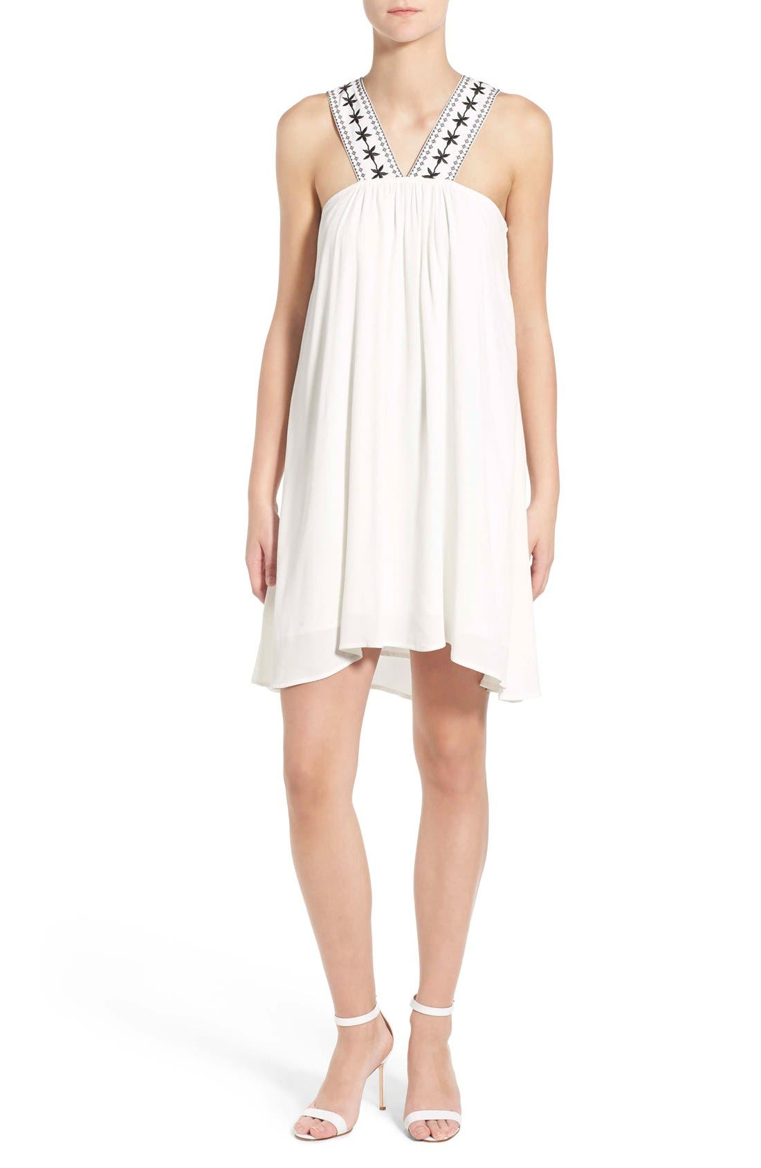 Main Image - cupcakes and cashmere 'Zeus' Swing Dress