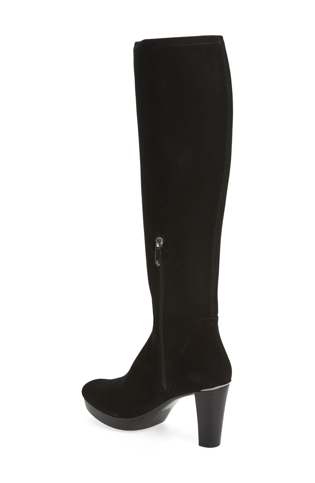 Alternate Image 2  - Donald J Pliner 'Echoe' Stretch Suede Tall Boot (Women)