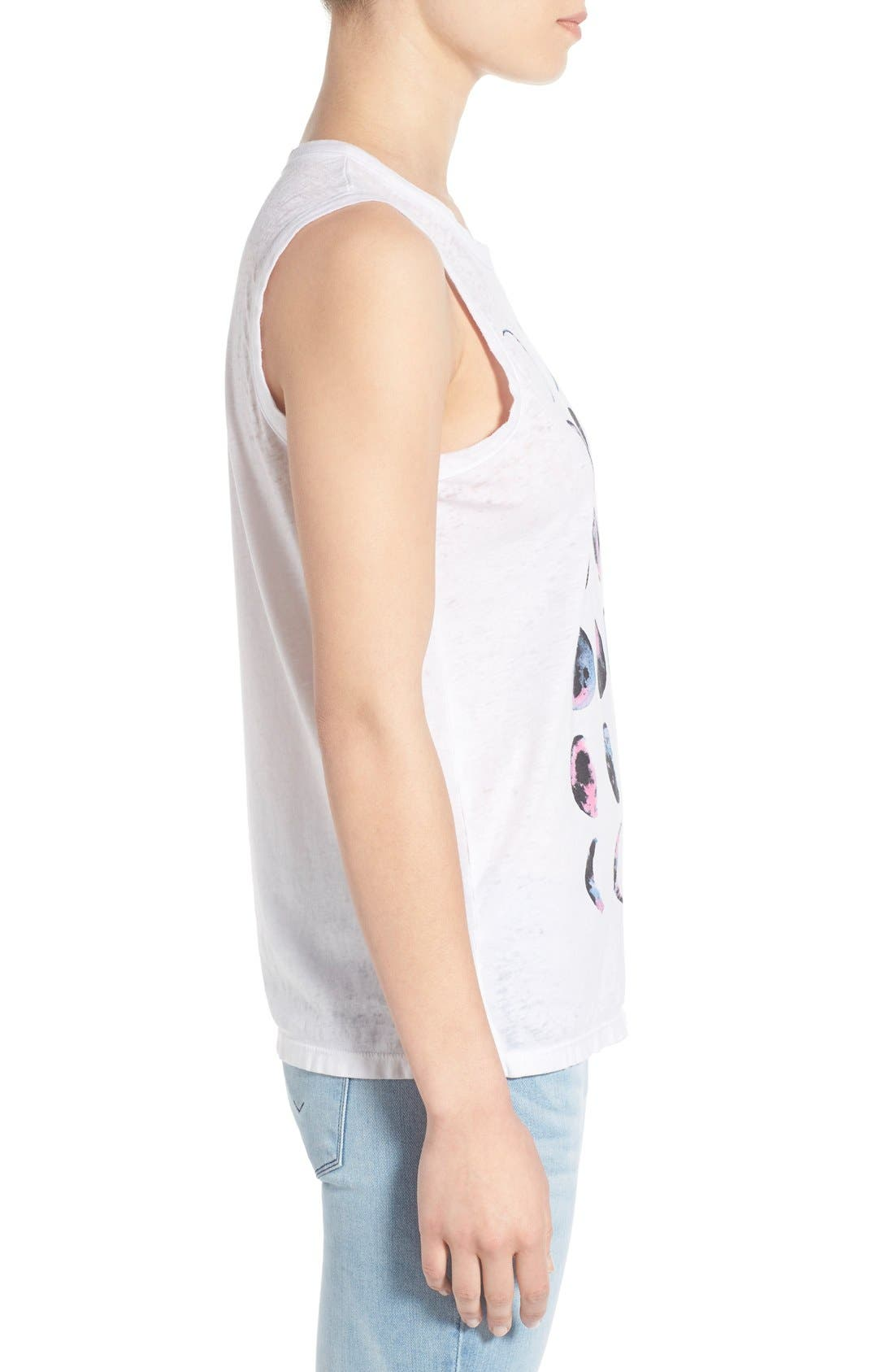 Alternate Image 3  - Chaser 'Moon Chart' Graphic Muscle Tank
