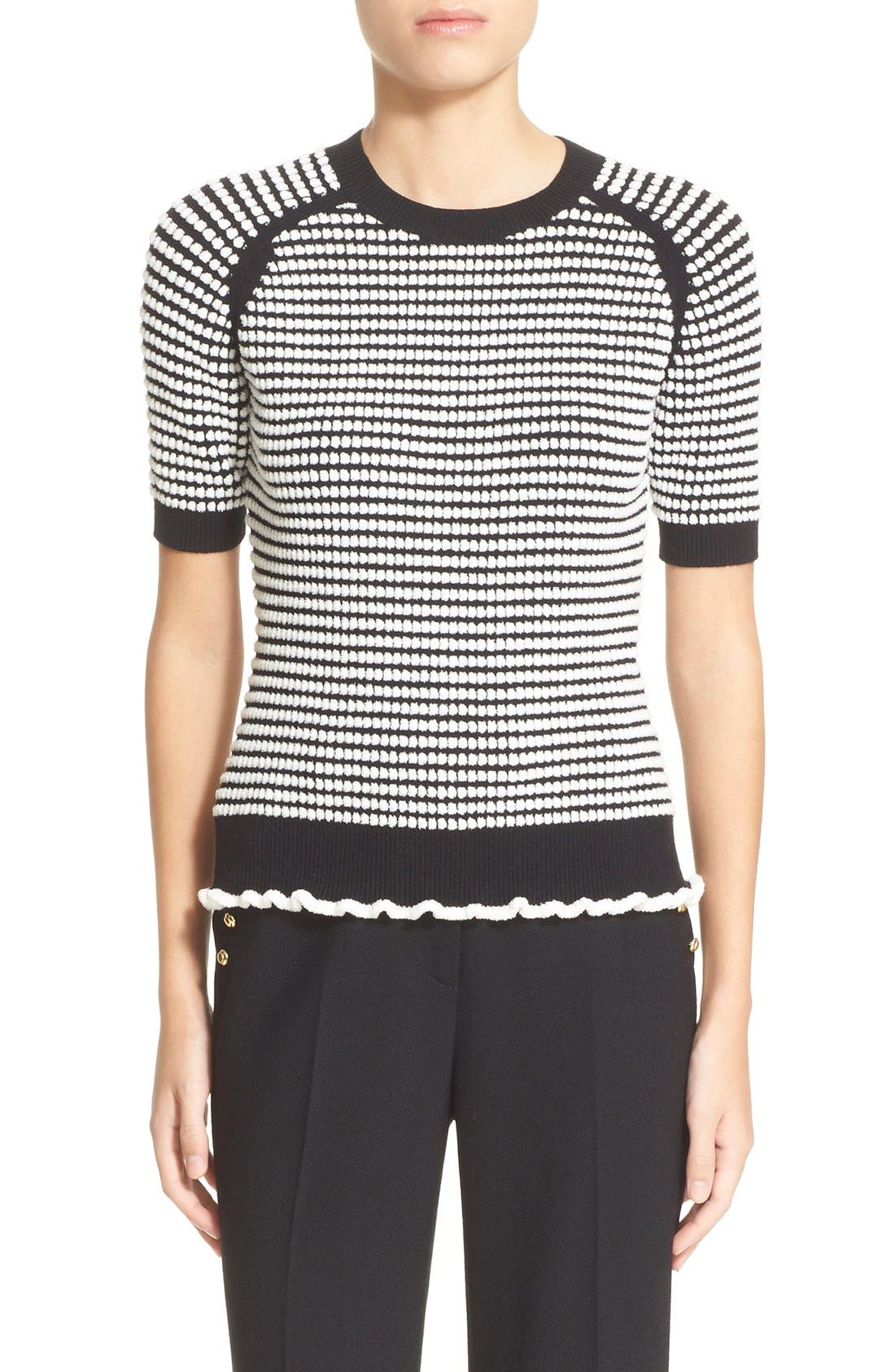 Alternate Image 1 Selected - 3.1 Phillip Lim Knit Ruffle Hem Sweater