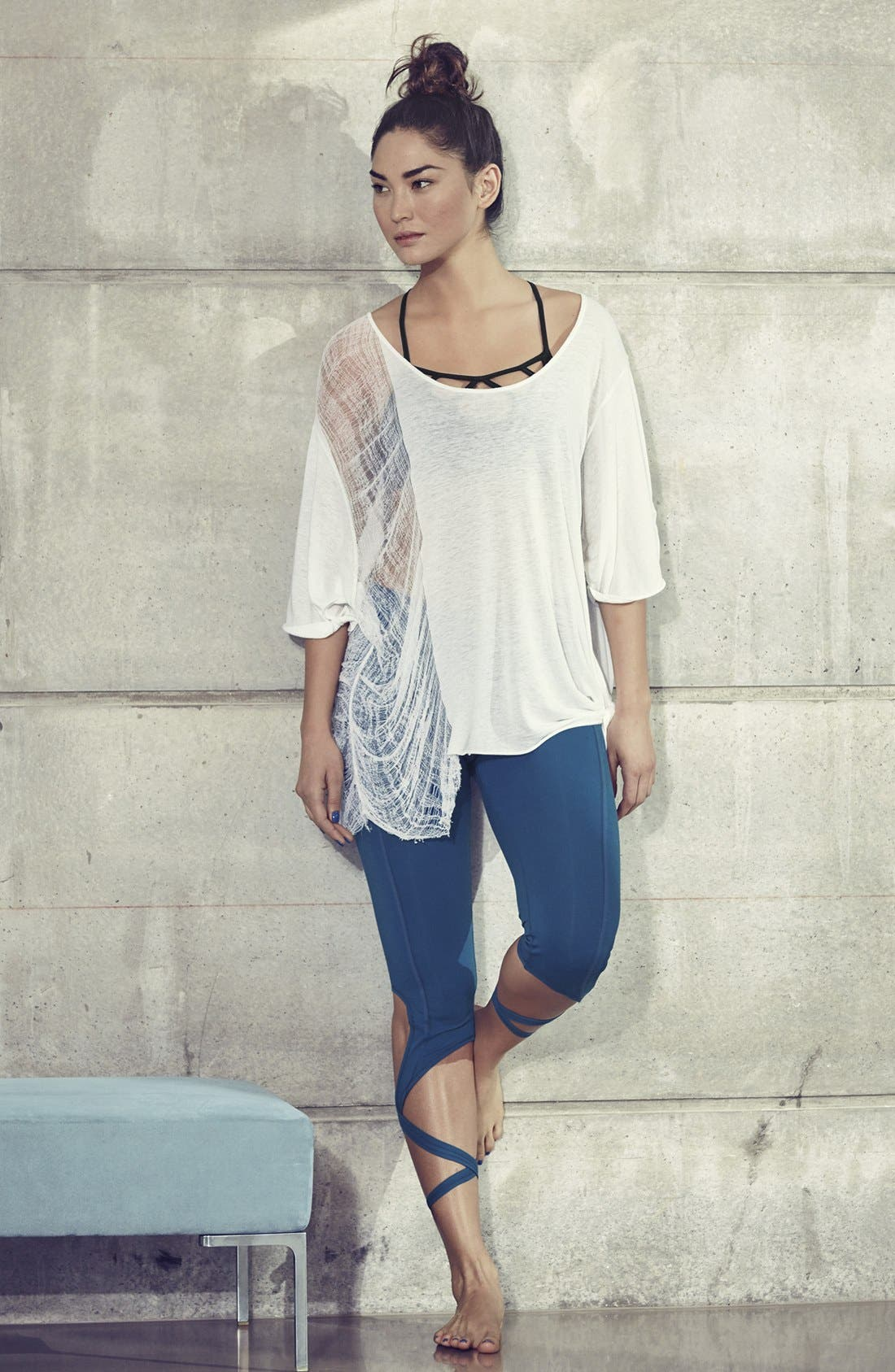 Alternate Image 8  - Free People Turnout Tie Capris