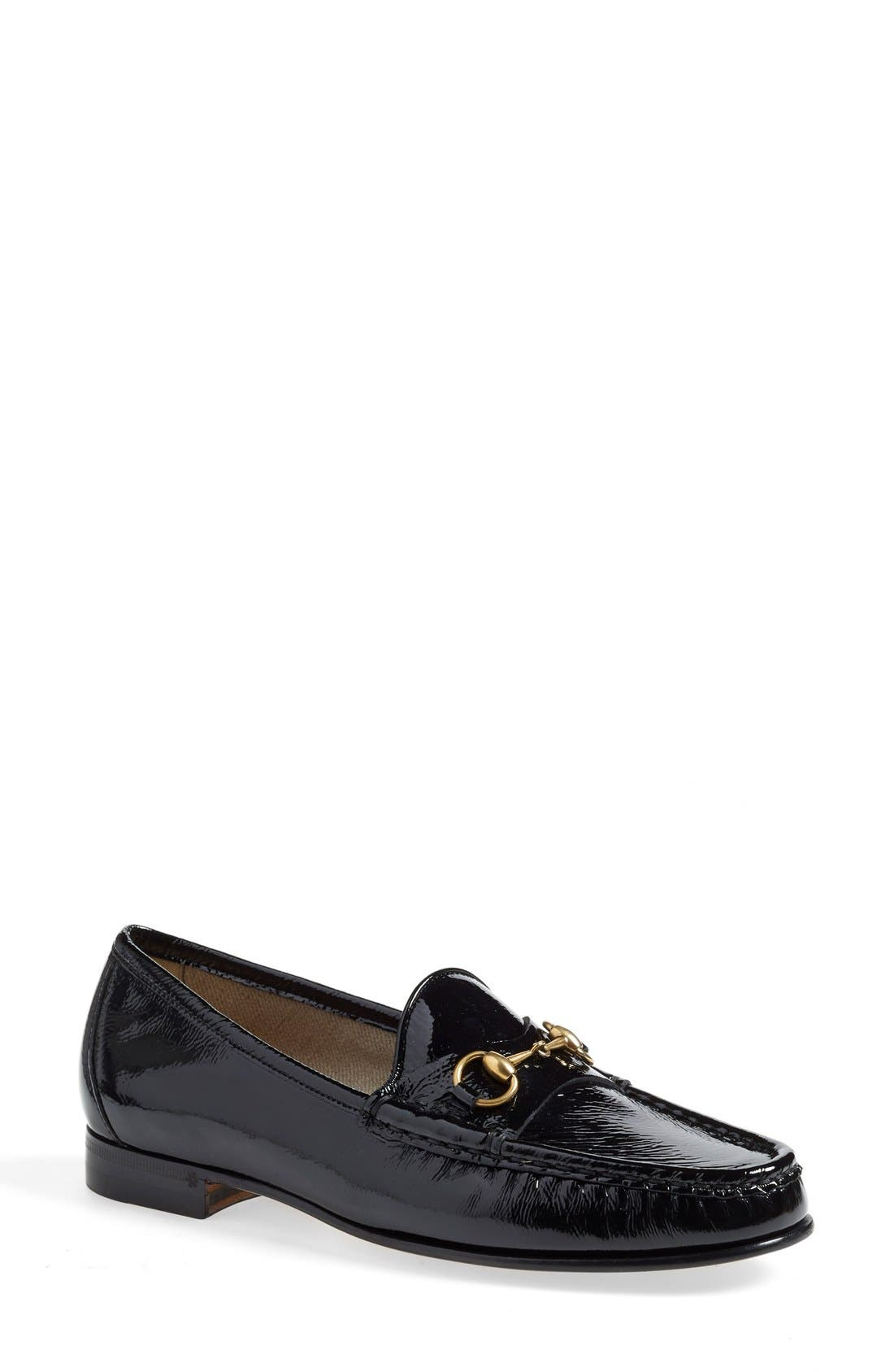 Main Image - Gucci 'Frame' Loafer (Women)