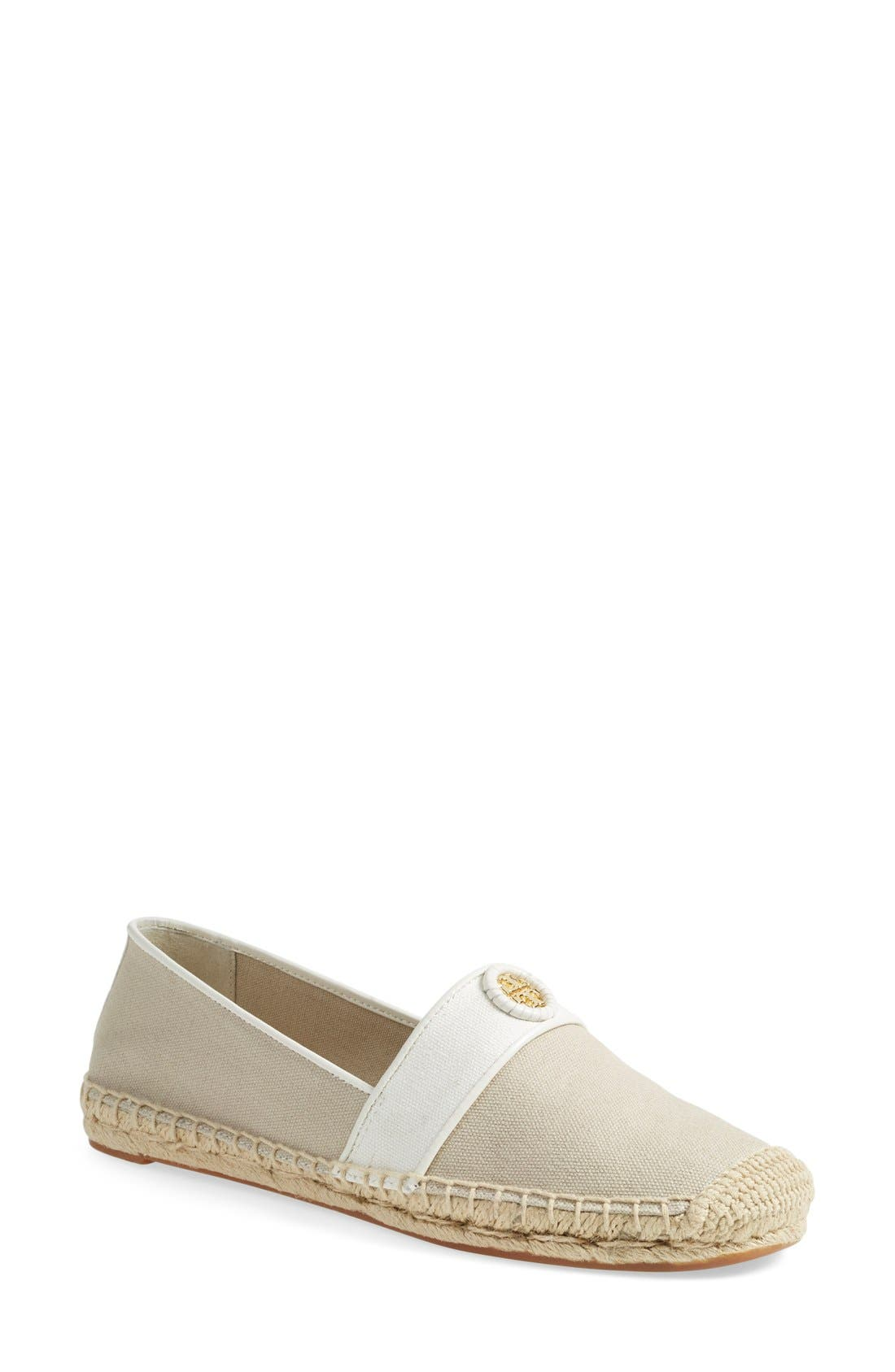 Main Image - Tory Burch 'Lacey' Espadrille Flat (Women) (Nordstrom Exclusive)