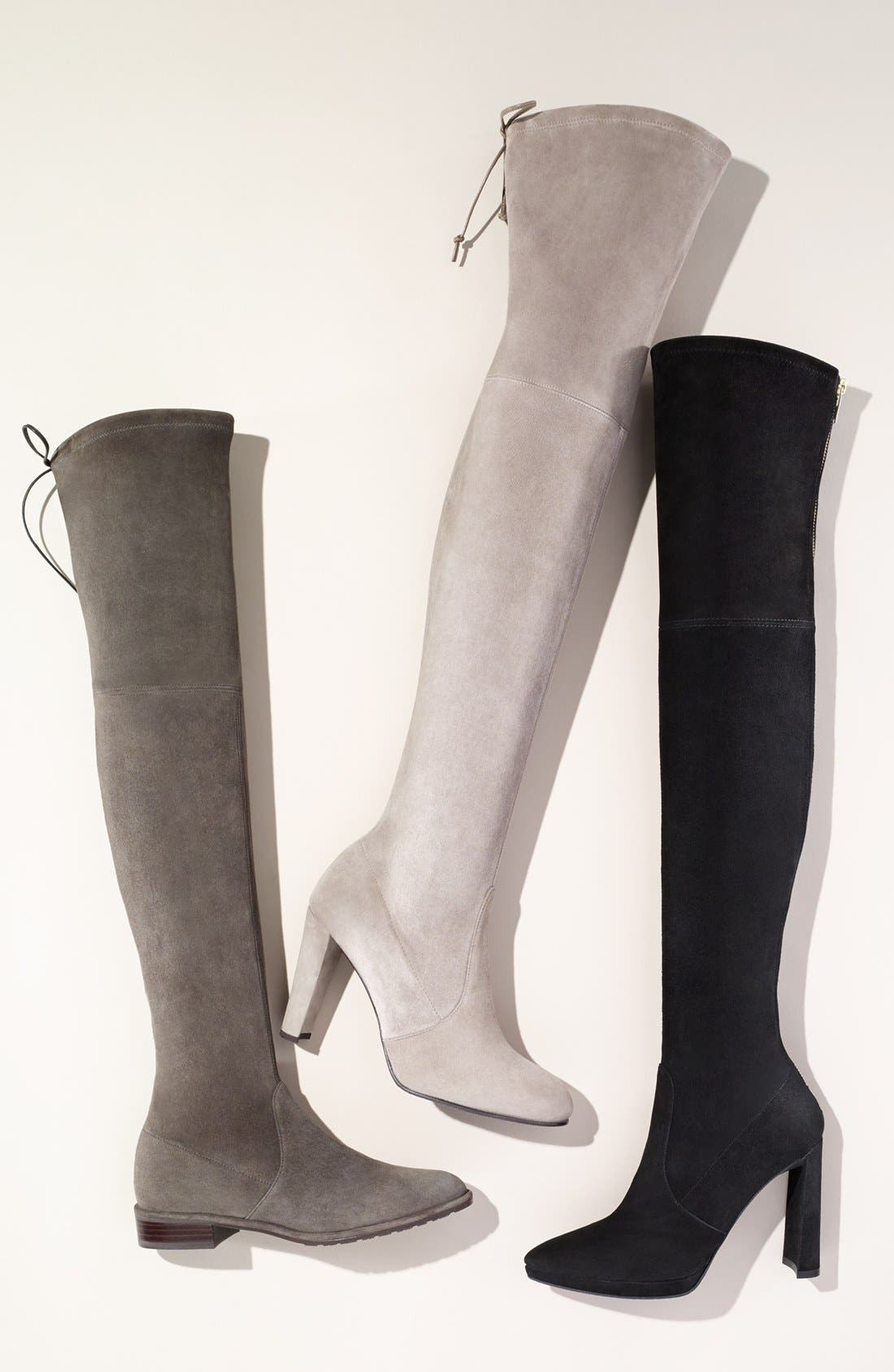 'Highland' Over the Knee Boot,                             Alternate thumbnail 2, color,
