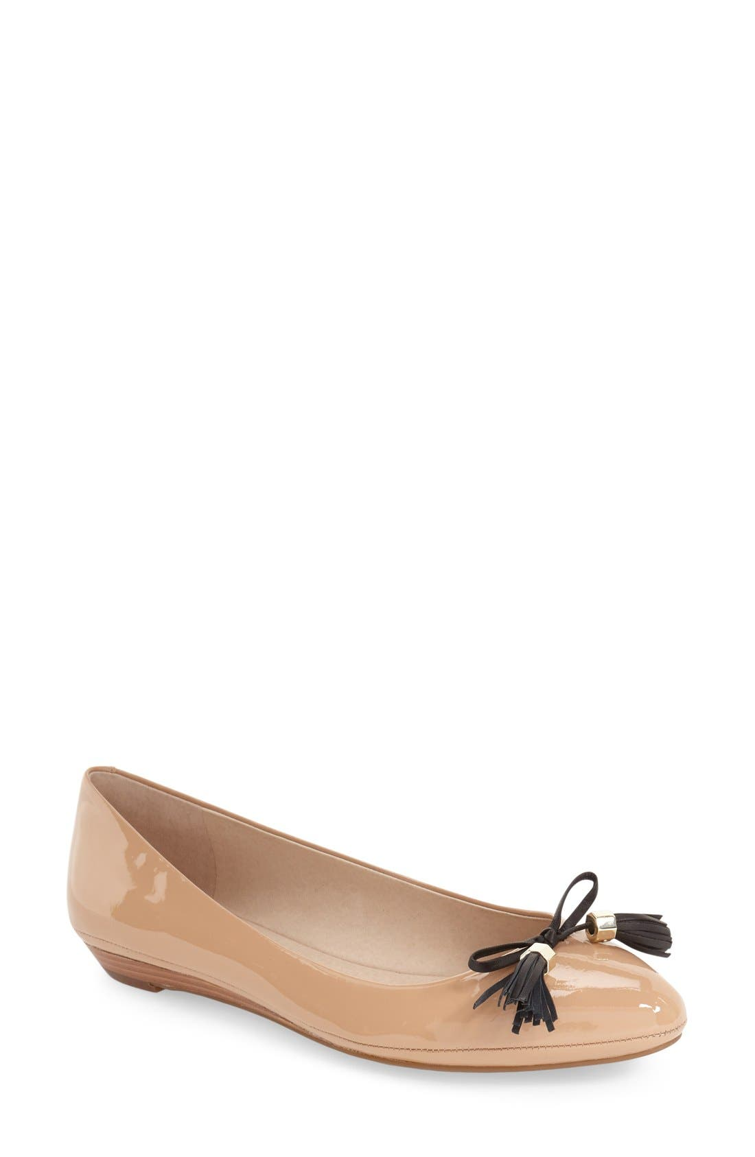 Alternate Image 1 Selected - Louise et Cie 'Aradella' Pointy Toe Flat (Women) (Nordstrom Exclusive)
