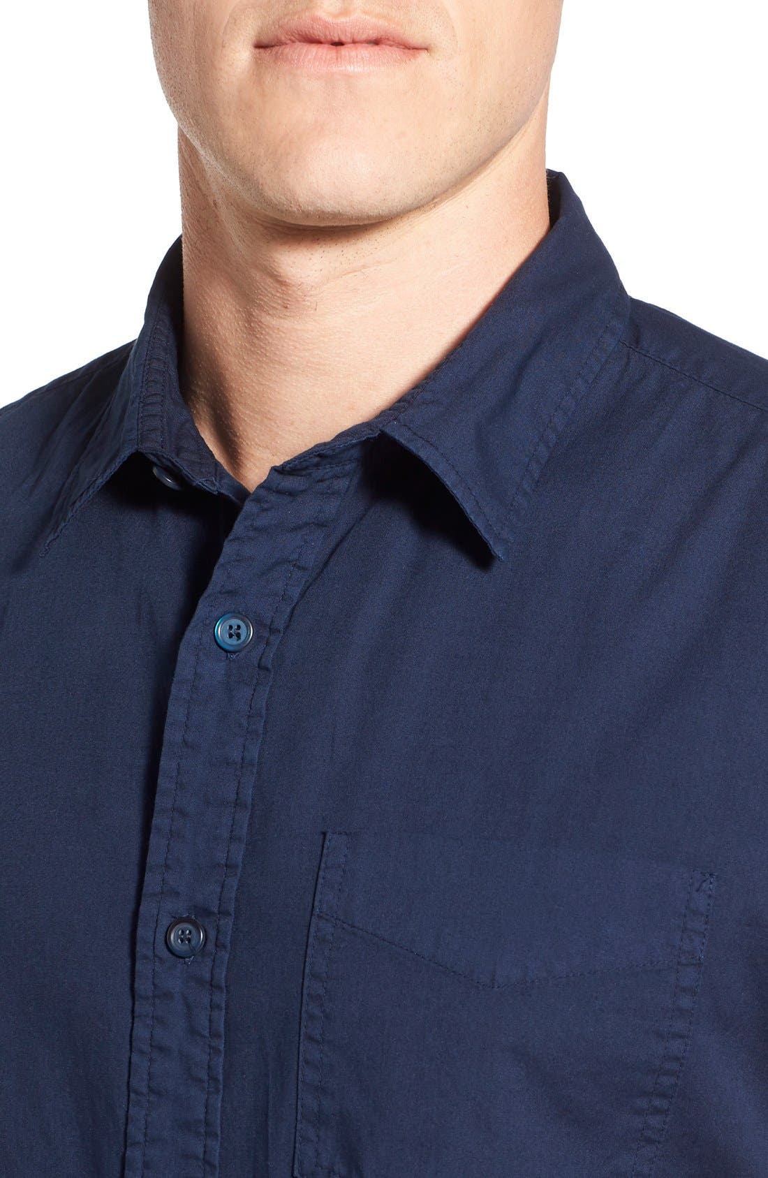 Alternate Image 4  - Original Paperbacks 'Torino' Short Sleeve Woven Shirt