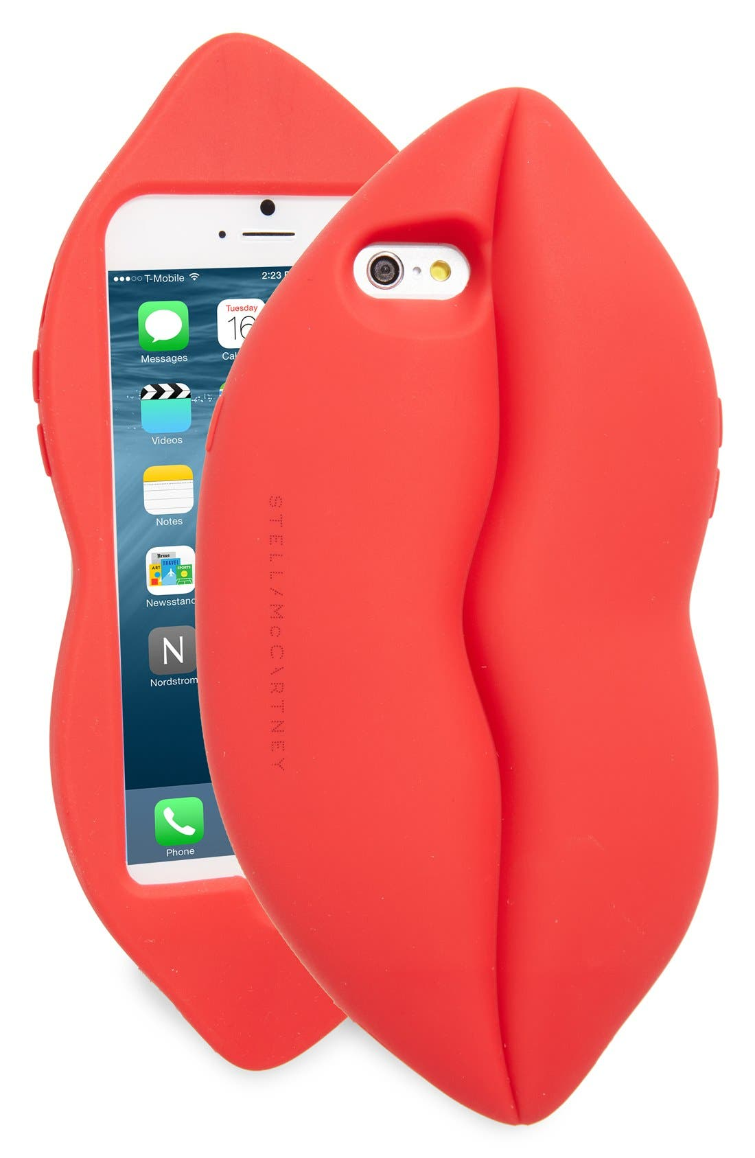 Lips iPhone 6/6s Case,                             Main thumbnail 1, color,                             Red