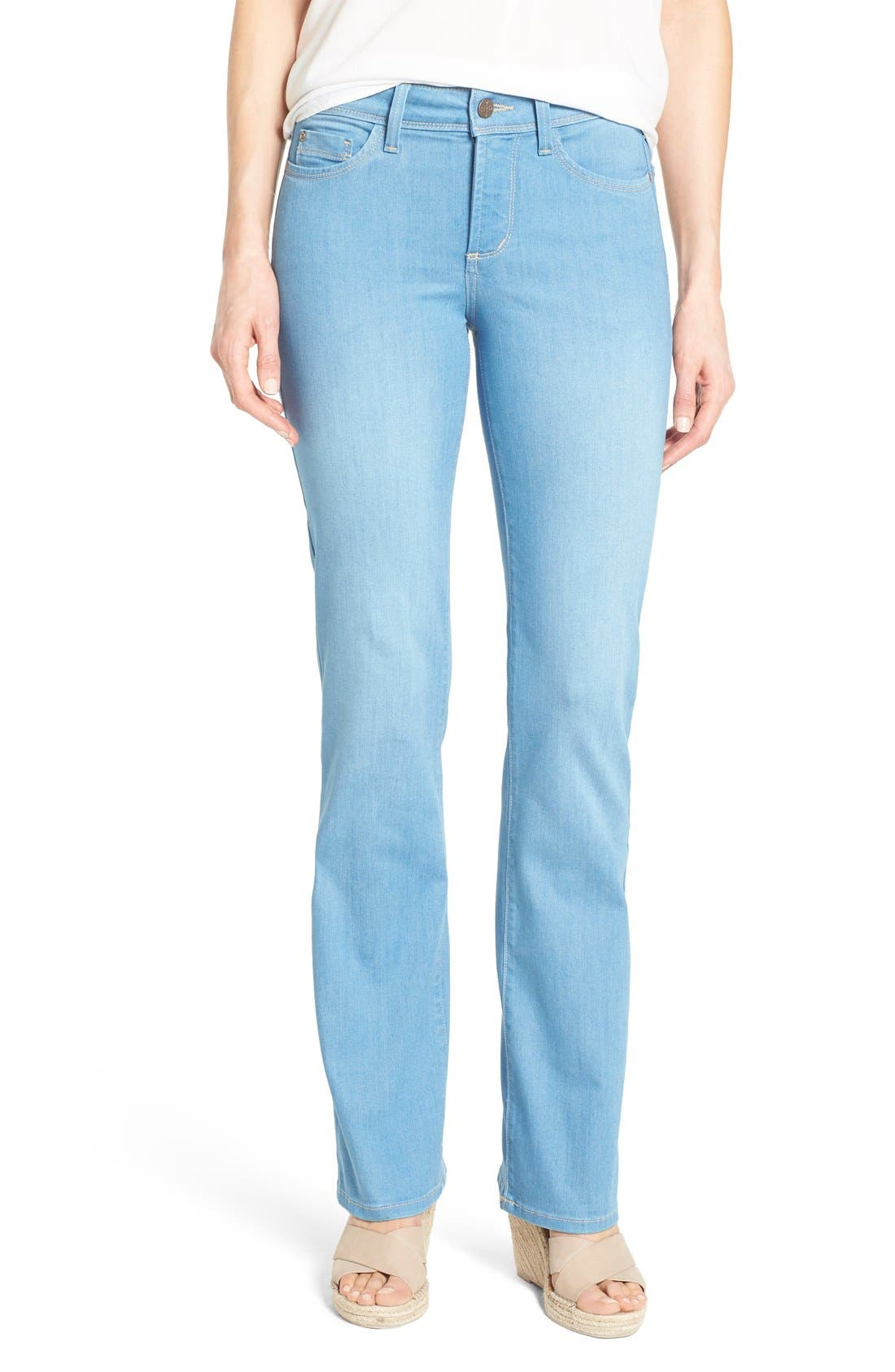'Barbara' Stretch Bootcut Jeans,                         Main,                         color, Palm Bay