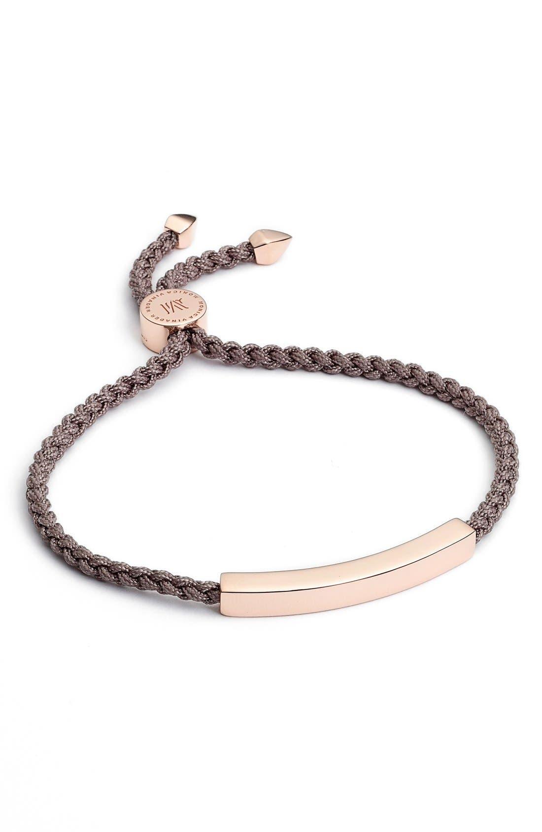 Alternate Image 1 Selected - Monica Vinader Linear Friendship Bracelet
