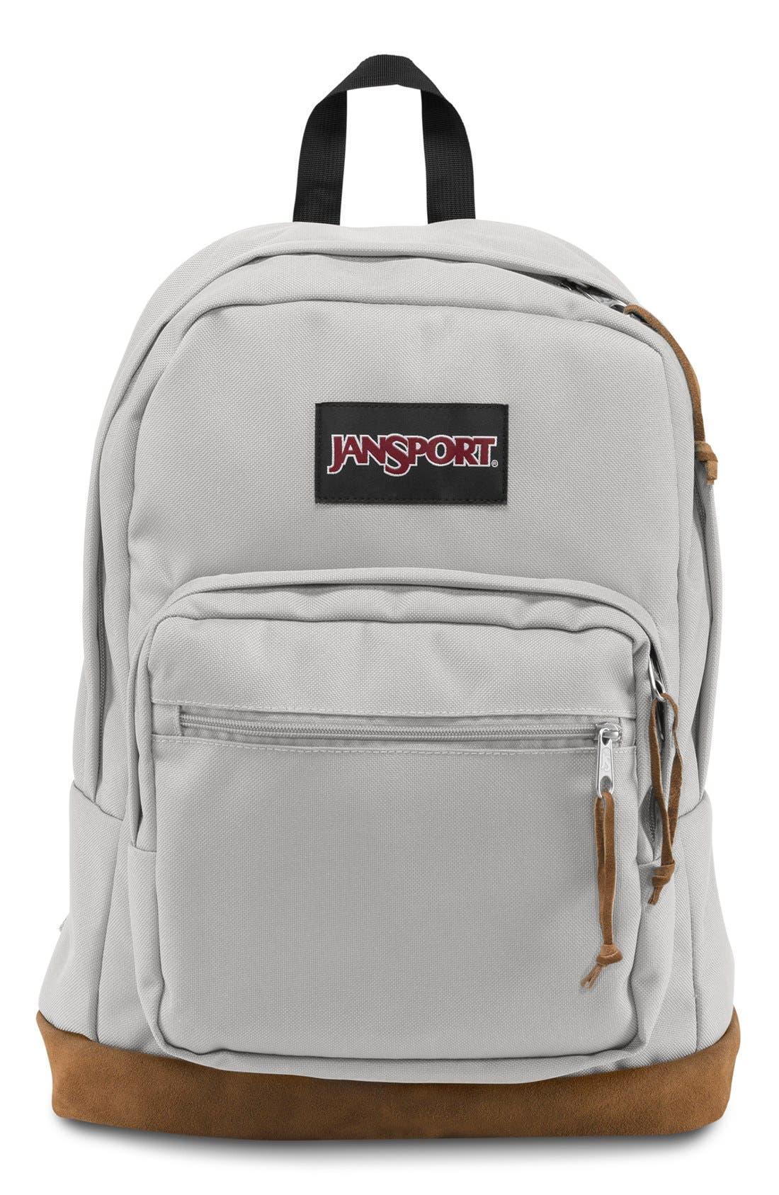 'Right Pack' Backpack,                             Main thumbnail 1, color,                             Grey