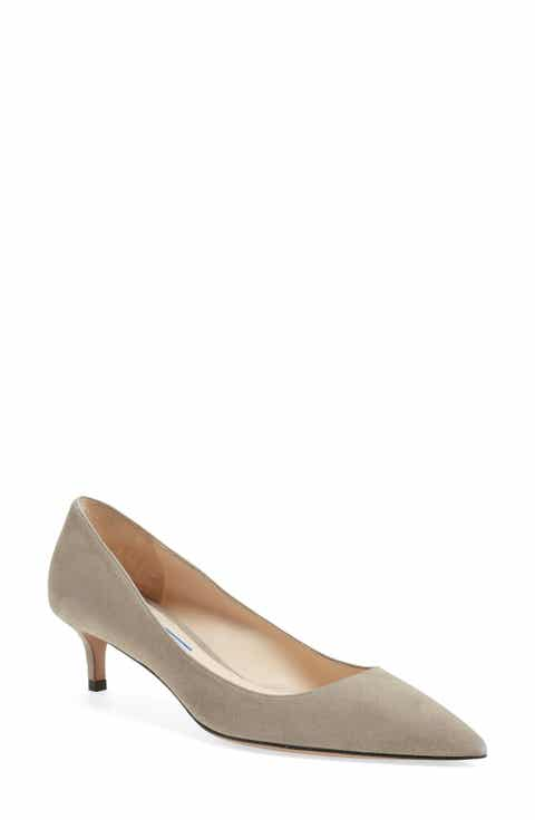 fc941c665230d Women's Grey Kitten Heel Pumps | Nordstrom