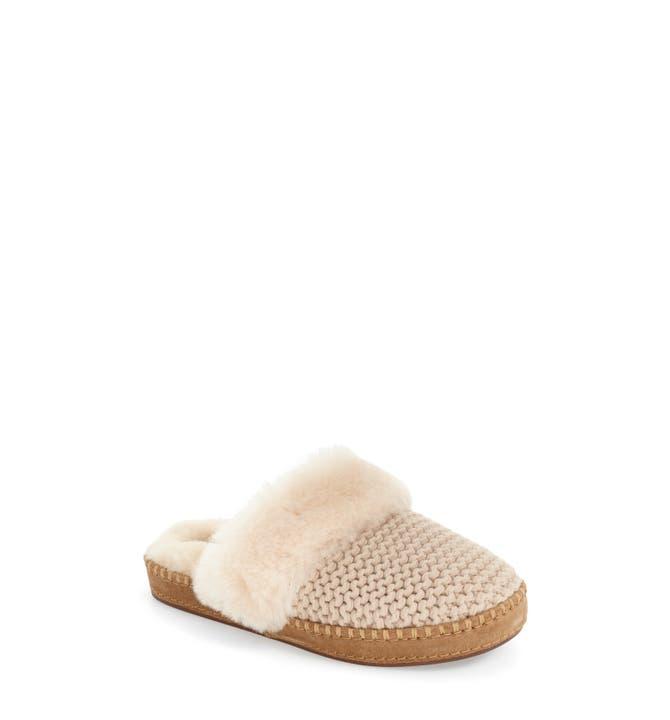 UGG Aira Knit Scuff Slipper Women Nordstrom - Ugg bedroom slippers