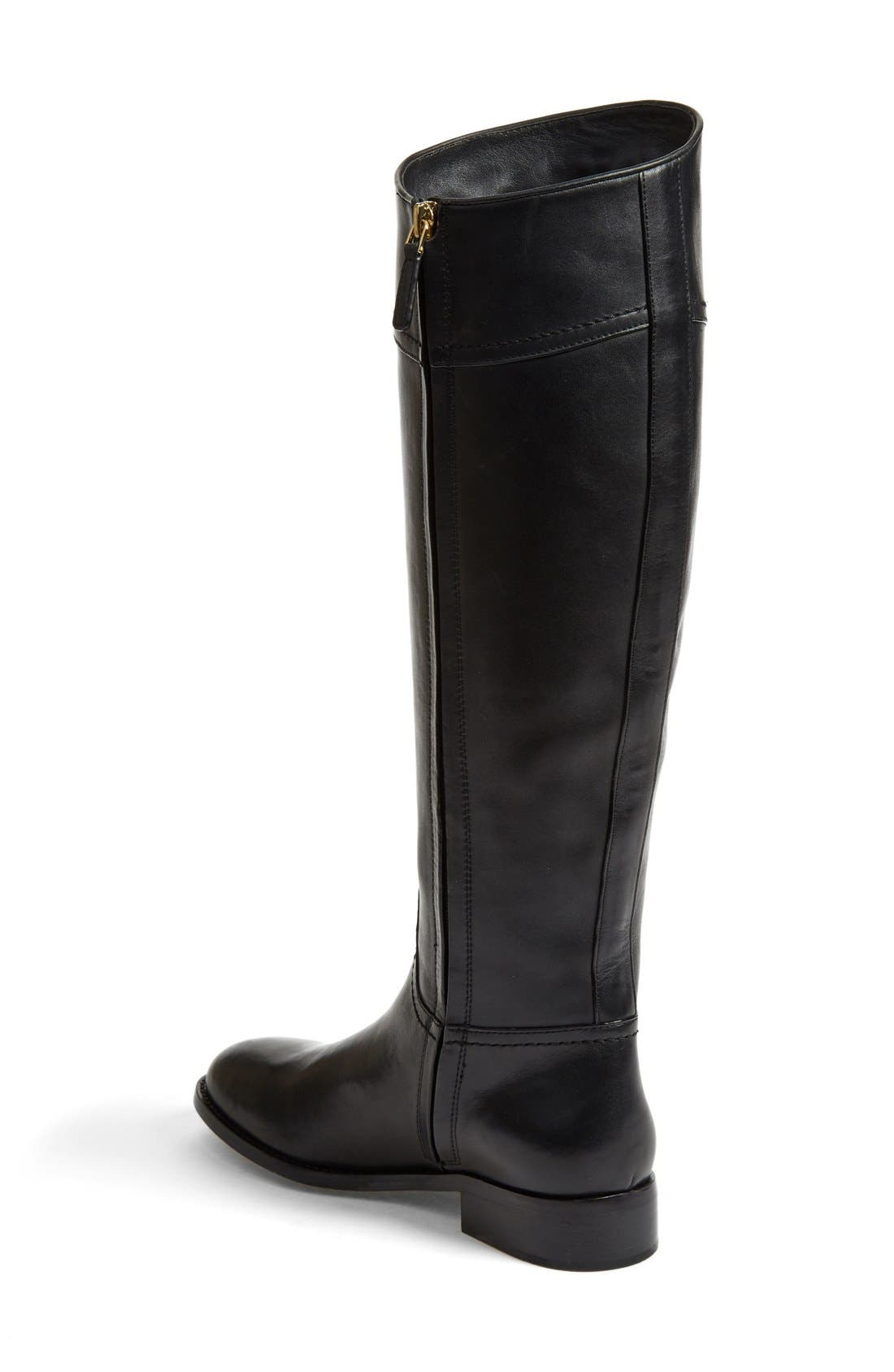 Alternate Image 2  - Tory Burch 'Ashlynn' Wide Calf Riding Boot (Women)