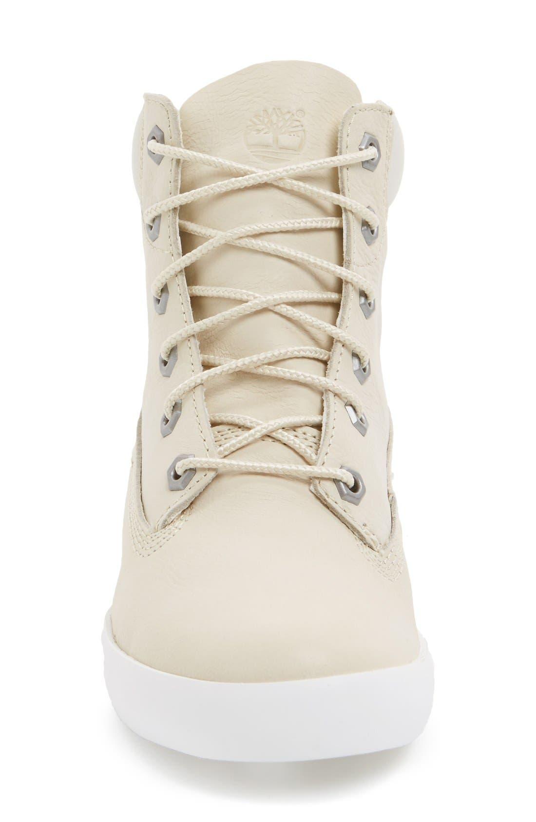 'Glastonbury Six Inch' Sneaker,                             Alternate thumbnail 3, color,                             Bone Leather