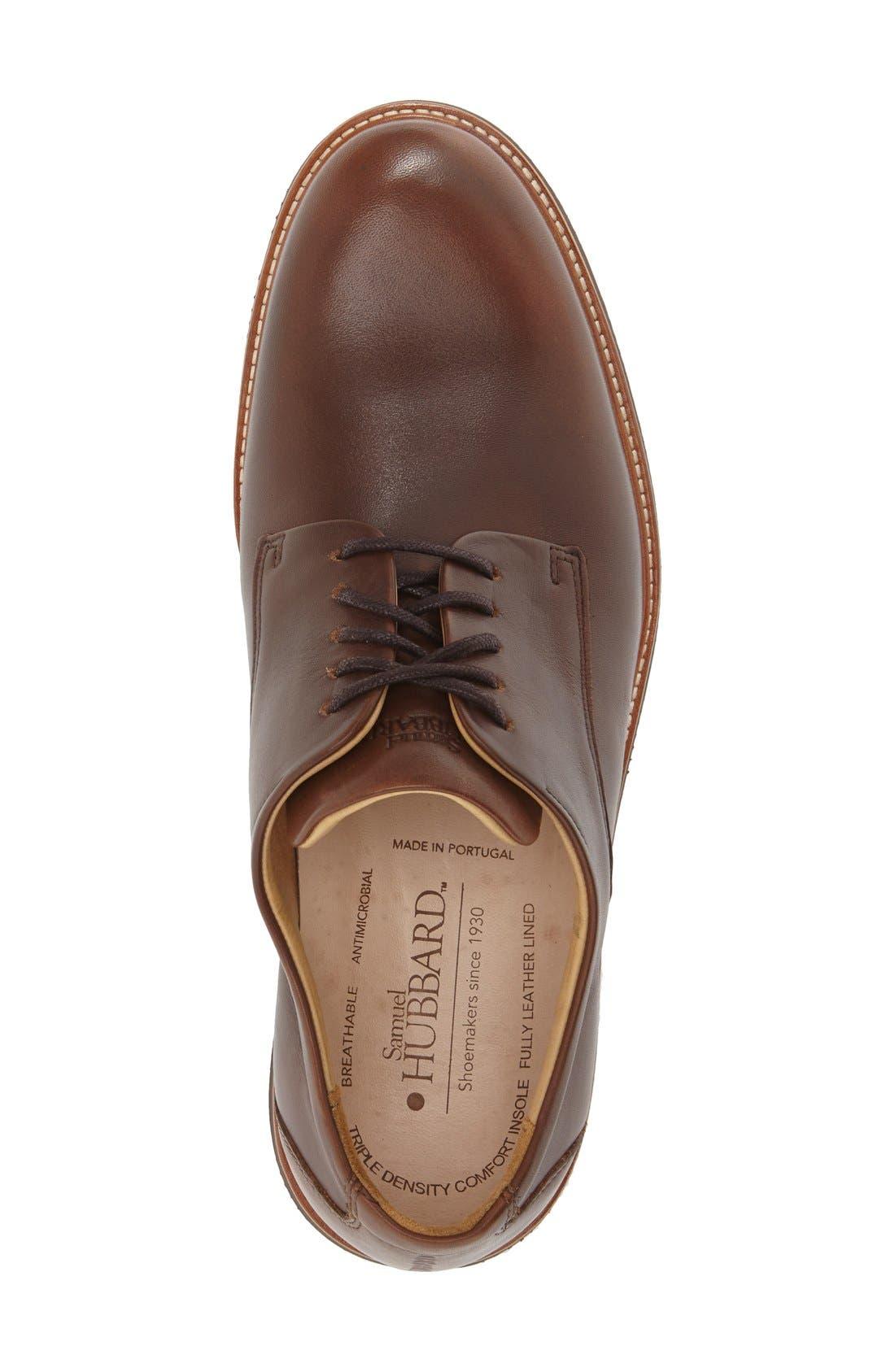 Alternate Image 3  - Samuel Hubbard 'Founder' Plain Toe Derby (Men)