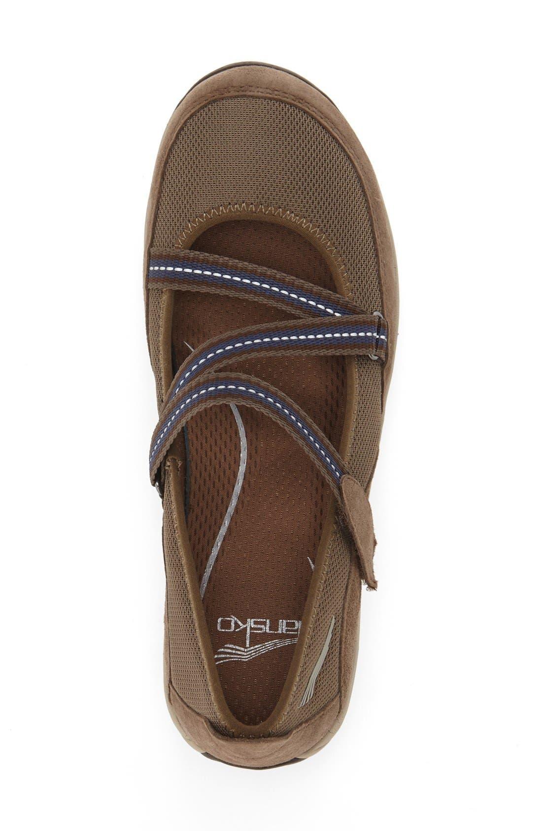 'Hazel' Slip-On Sneaker,                             Alternate thumbnail 4, color,                             Taupe Suede