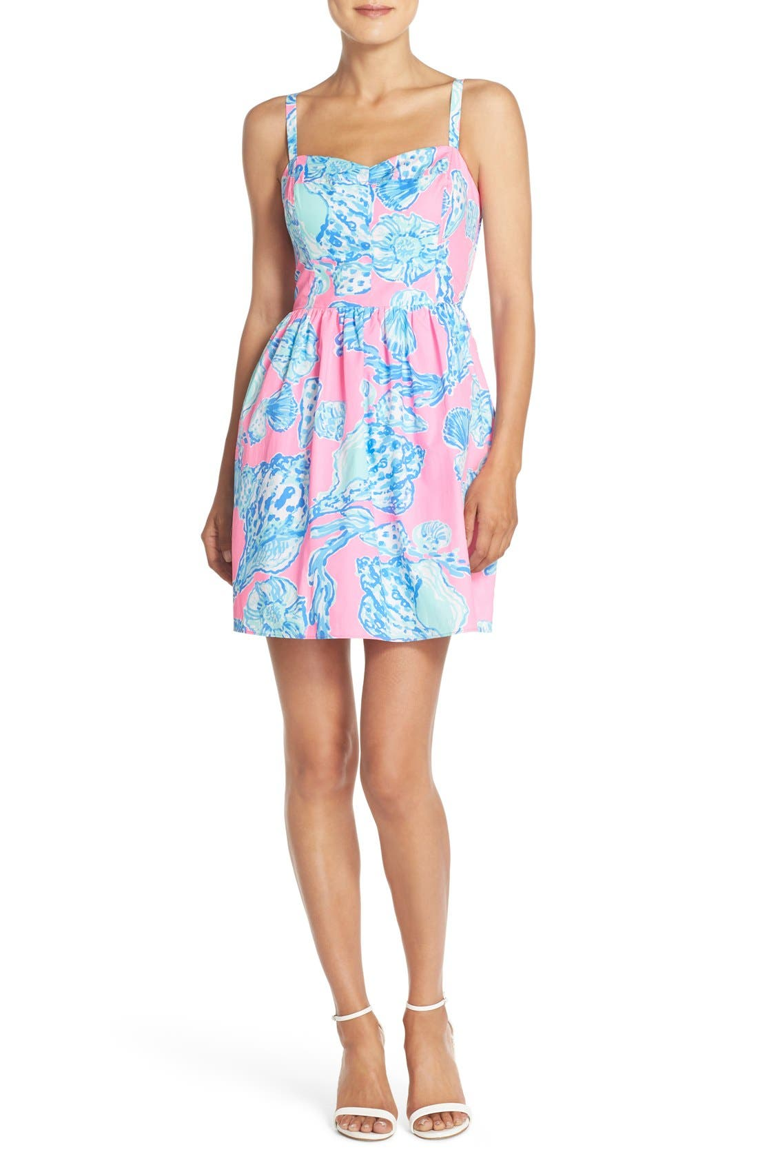 Alternate Image 4  - Lilly Pulitzer® 'Ardleigh' Print Cotton Fit & Flare Dress