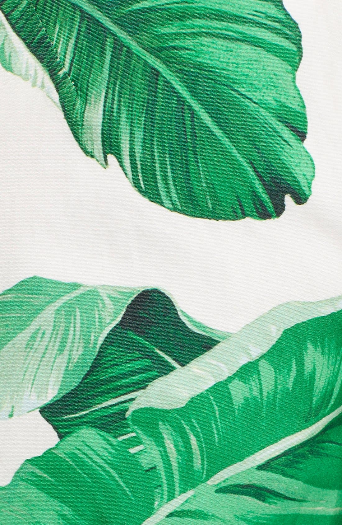 Alternate Image 3  - Dolce&Gabbana Banana Leaf Print Cotton Poplin Dress
