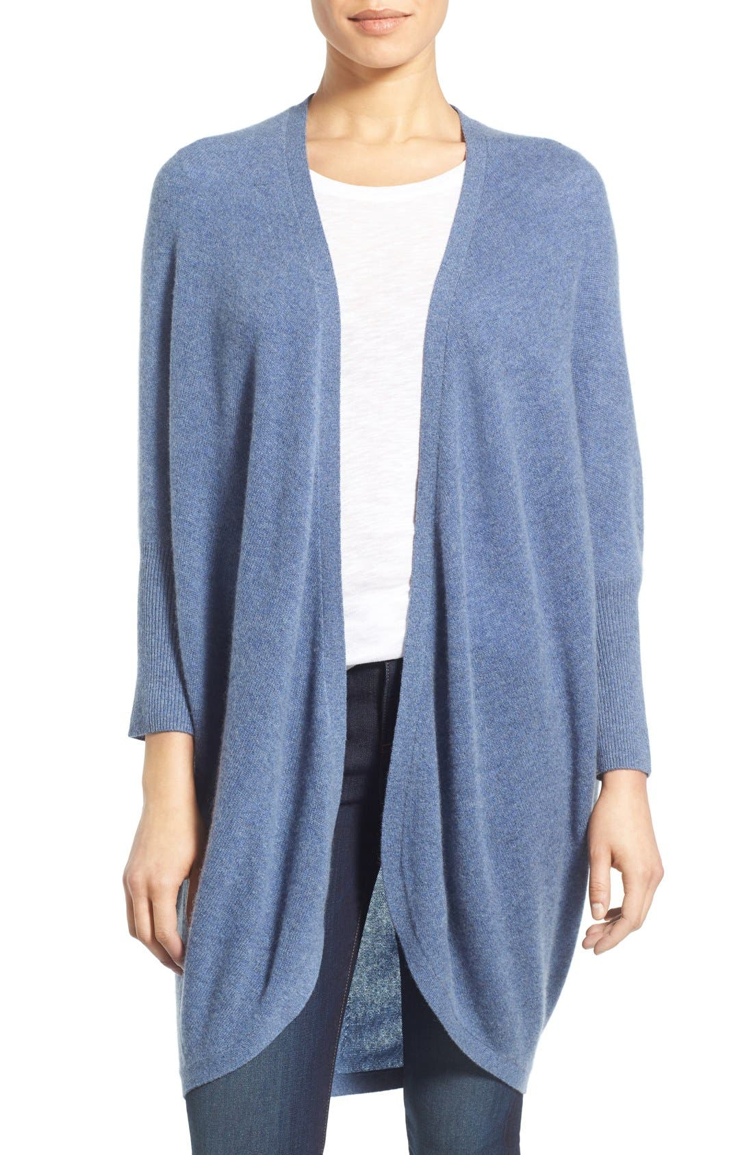 Halogen® Cashmere Kimono Cardigan   Nordstrom