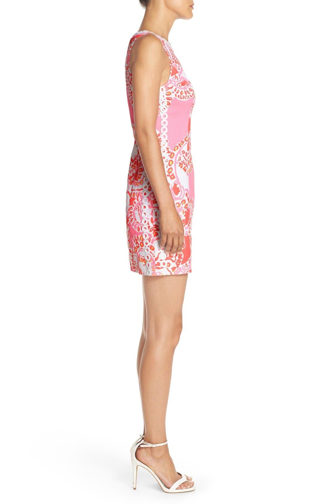 Alternate Image 3  - Lilly Pulitzer® 'Mila' Print Cotton Shift Dress