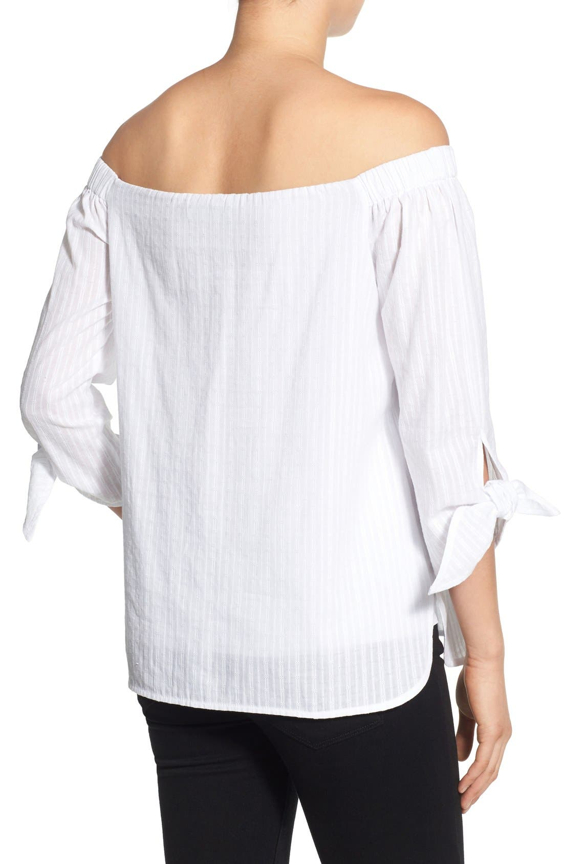 Alternate Image 2  - Bailey 44 'Yarrow' Off the Shoulder Top