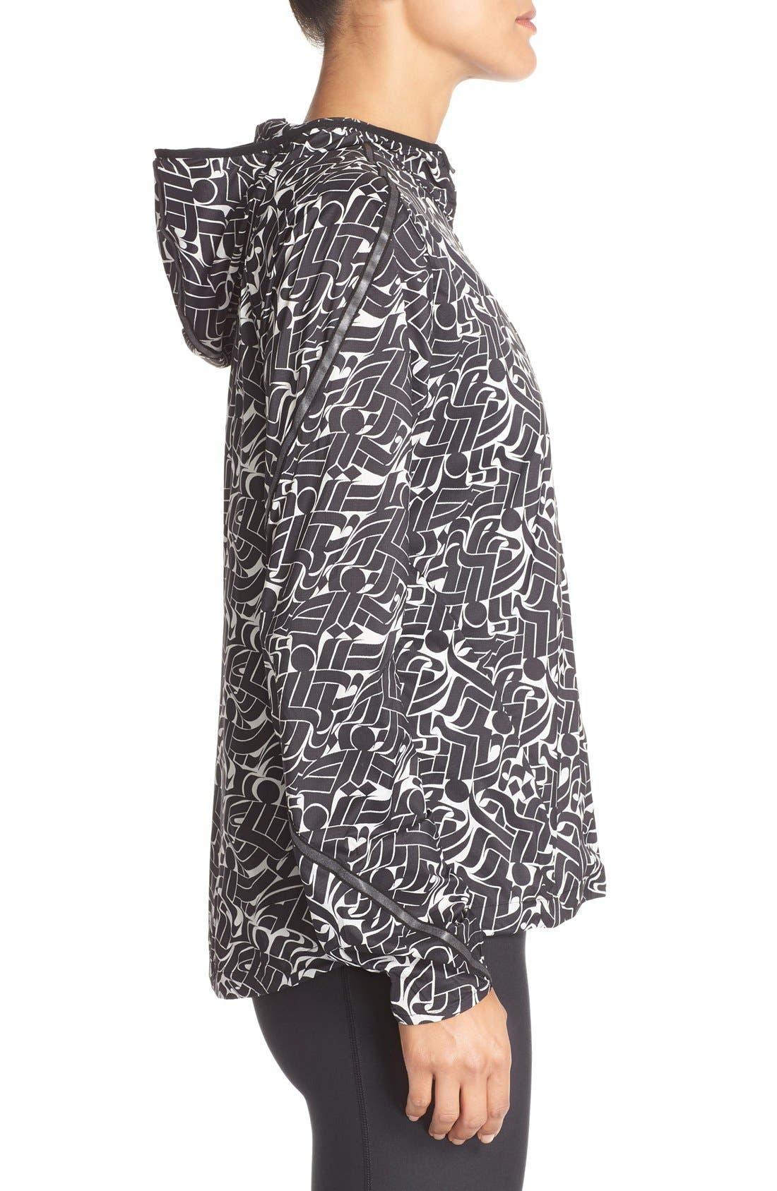 Alternate Image 3  - Nike Shield Hooded Windbreaker Jacket