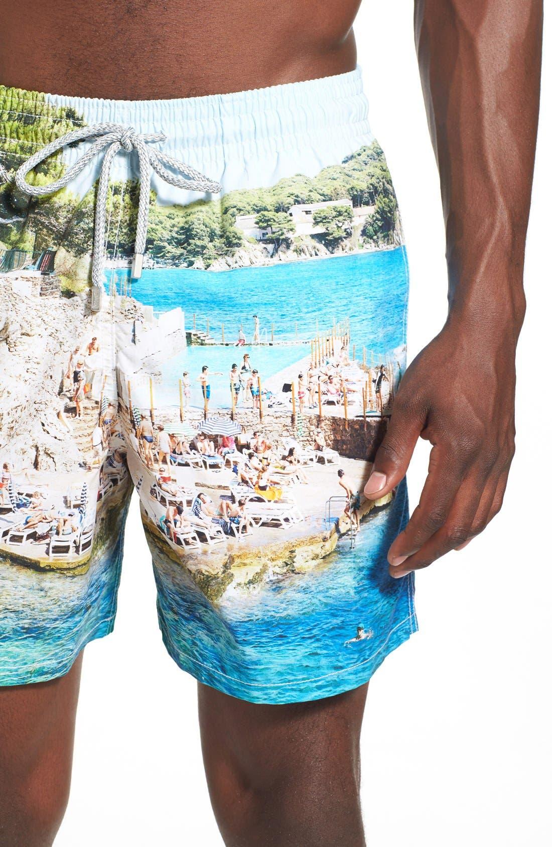 Alternate Image 4  - Vilebrequin 'Massimo Vitali Moorea' Swim Trunks