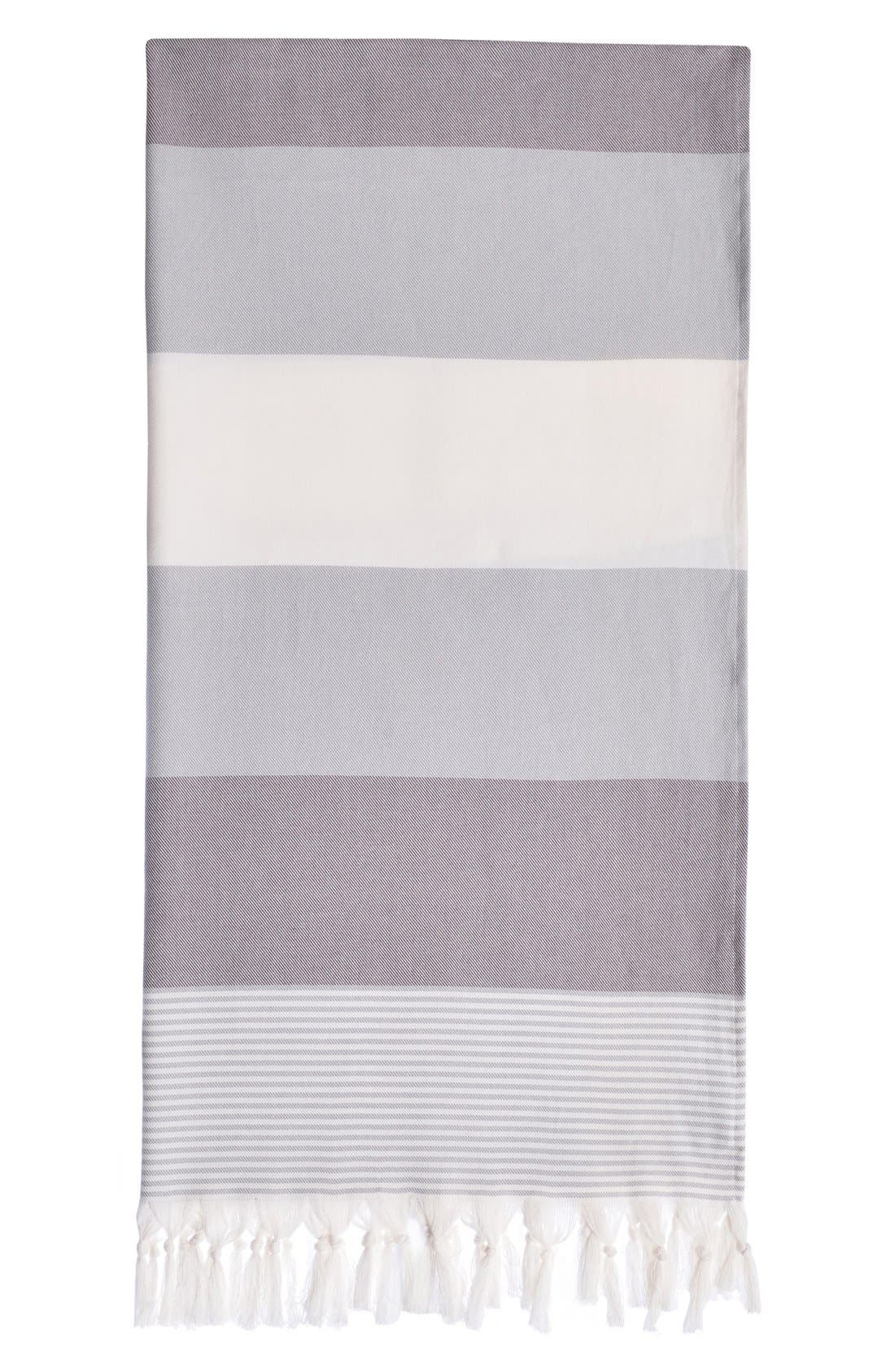Alternate Image 1 Selected - Linum Home Textiles 'Sea Waves' Turkish Pestemal Towel