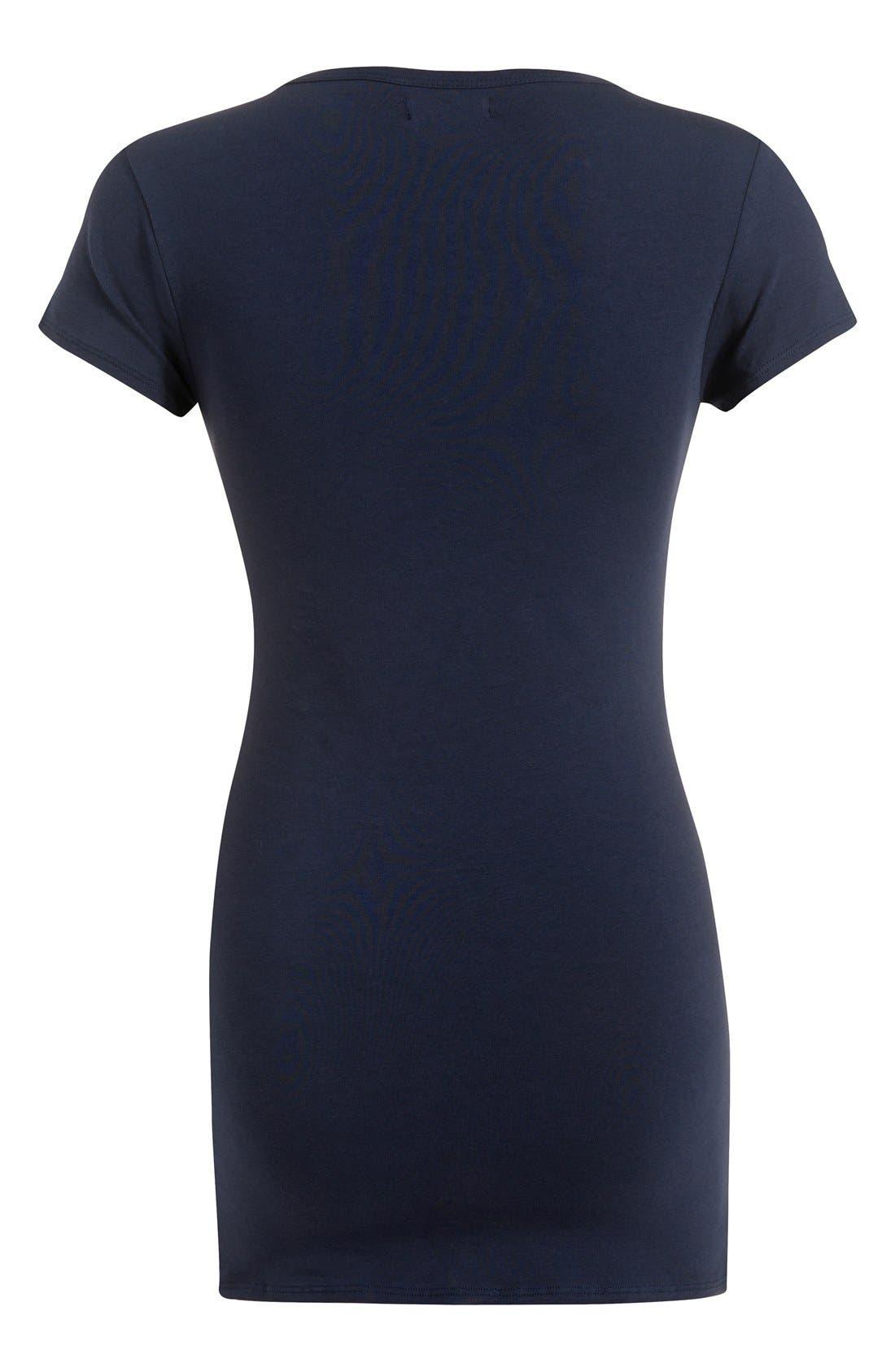 Alternate Image 2  - Noppies 'Elise' Stretch Jersey Maternity/Nursing Top