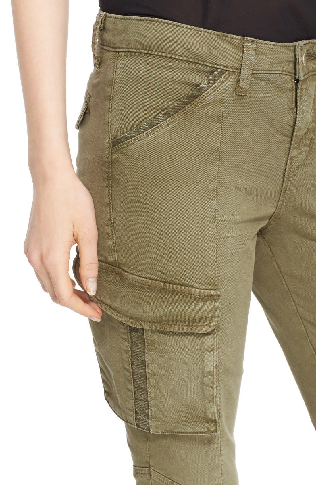 Alternate Image 4  - L'AGENCE Skinny Cargo Pants