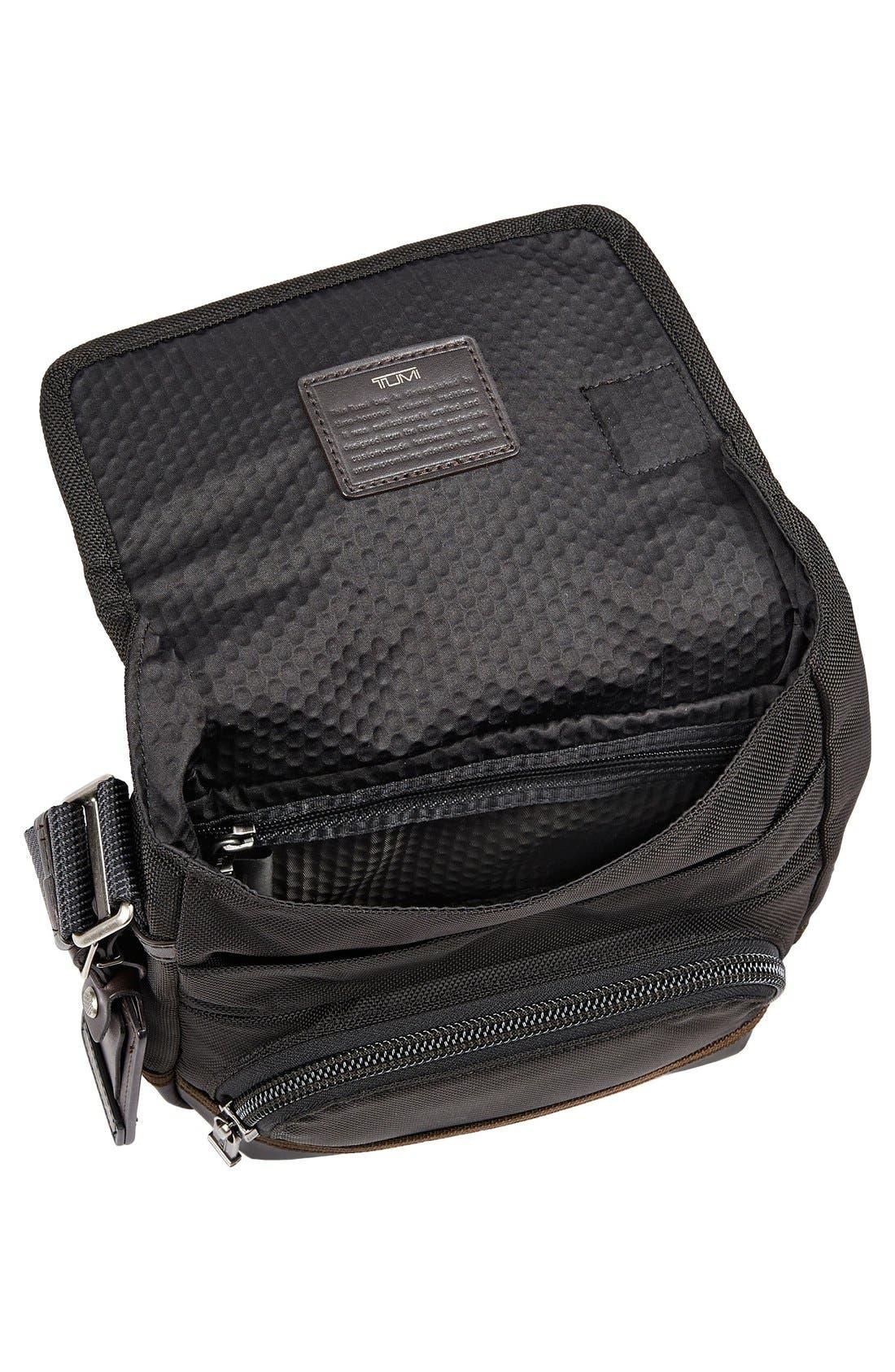 'Alpha Bravo - Barstow' Crossbody Bag,                             Alternate thumbnail 4, color,                             Hickory Black