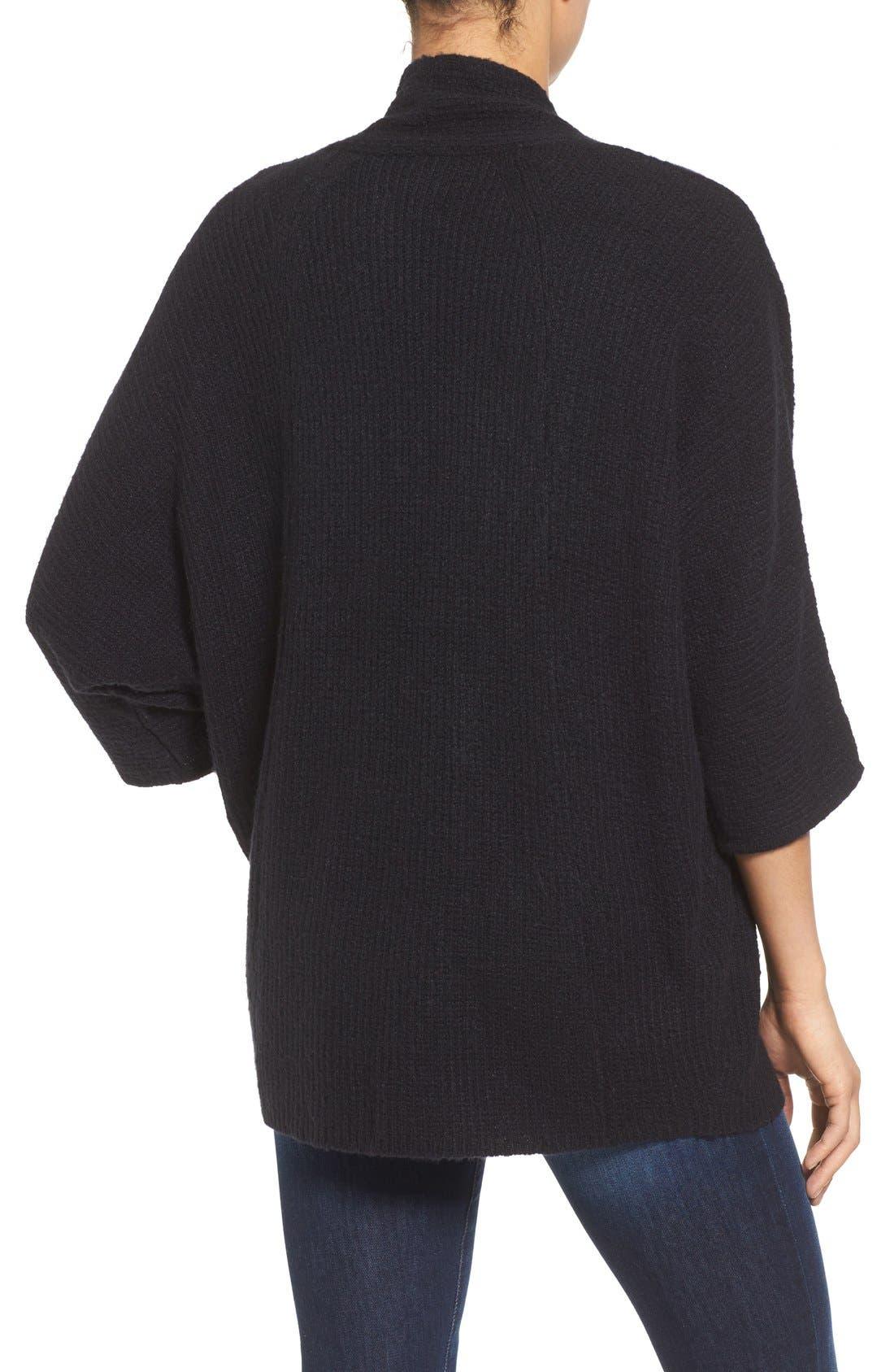Alternate Image 2  - Halogen® Open Front Knit Cardigan