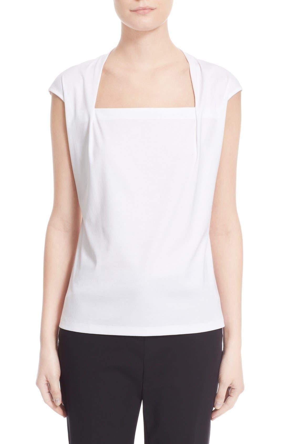 'Giada' Top,                         Main,                         color, White