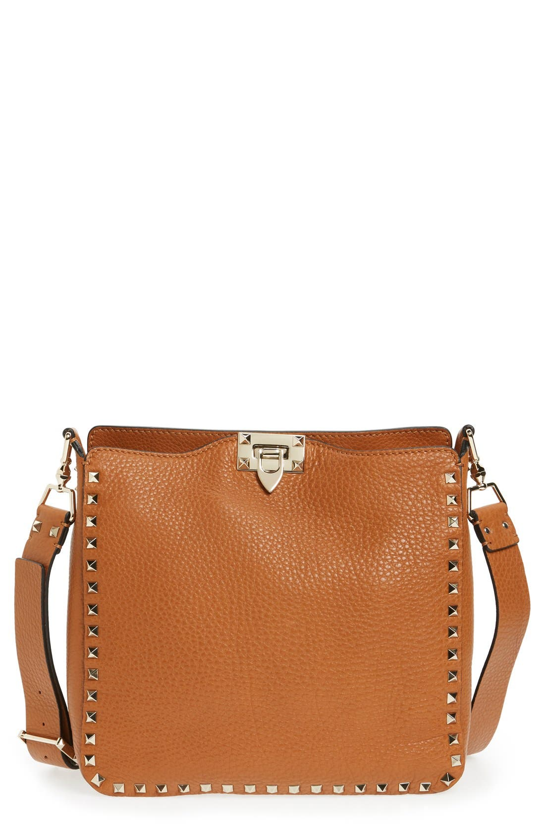 Alternate Image 1 Selected - VALENTINO GARAVANI 'Vitello' Rockstud Hobo