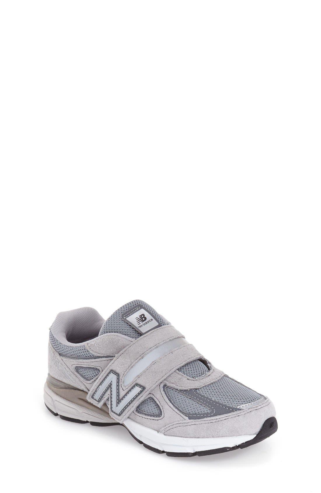 '990v4' Sneaker,                             Main thumbnail 1, color,                             Grey