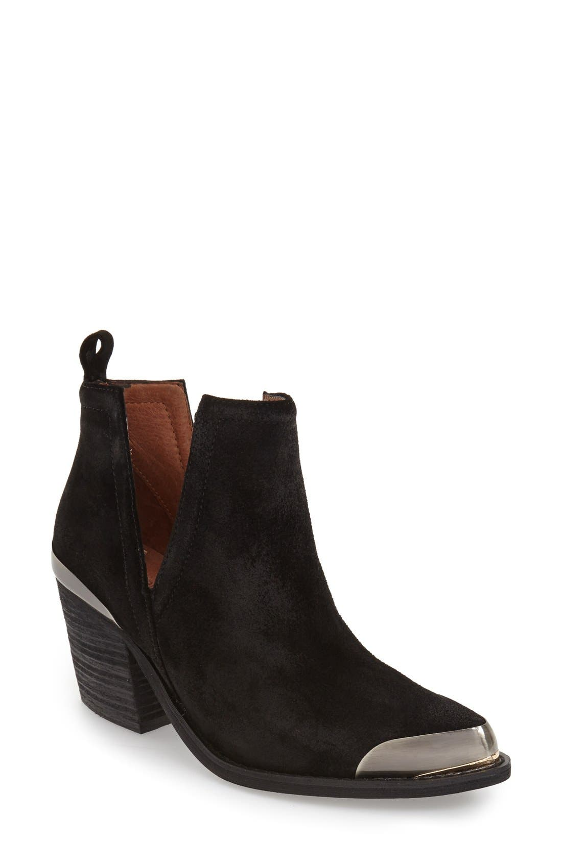 Alternate Image 1 Selected - Jeffrey Campbell 'Optimum' Split Shaft Bootie (Women)
