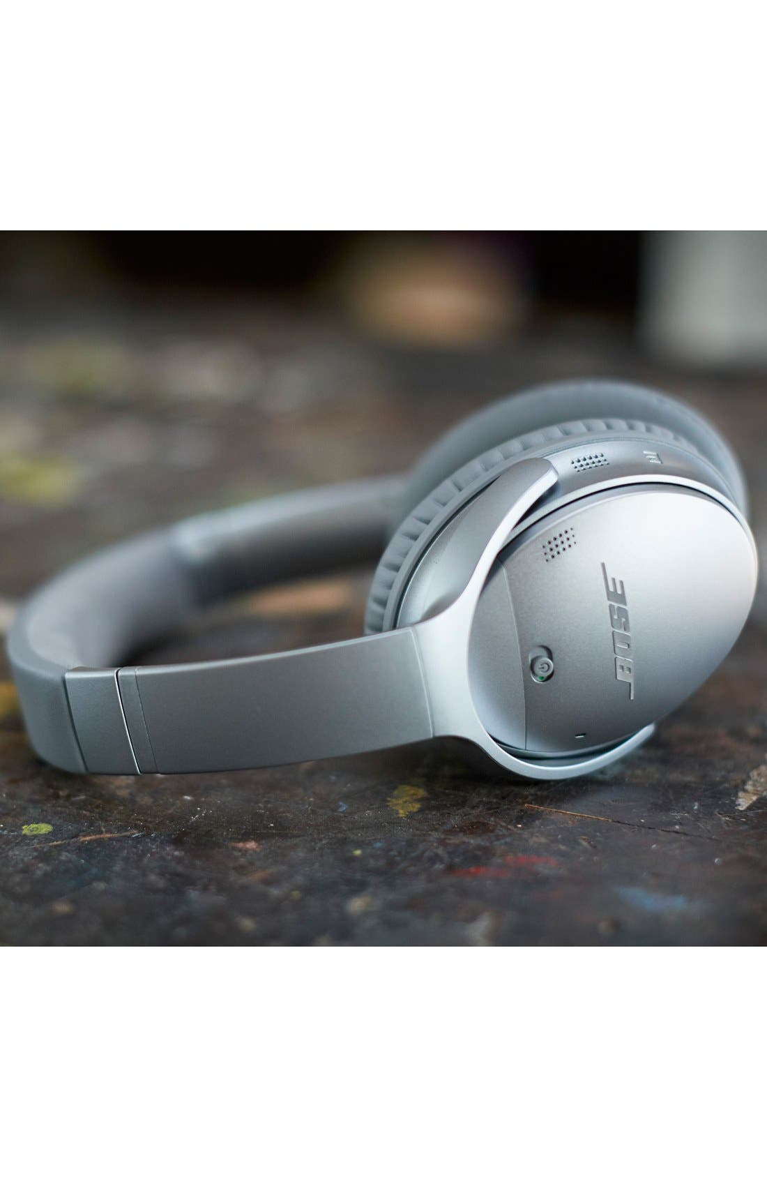 QuietComfort<sup>®</sup> 35 Acoustic Noise Cancelling<sup>®</sup> Bluetooth<sup>®</sup> Headphones,                             Alternate thumbnail 9, color,                             Silver