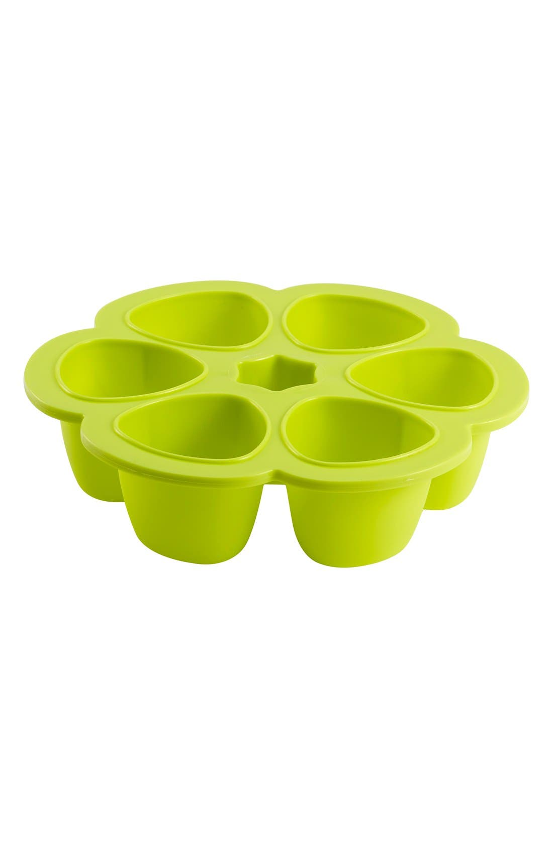 'Multiportions' 3 oz. Food Cup Tray,                             Main thumbnail 1, color,                             Neon
