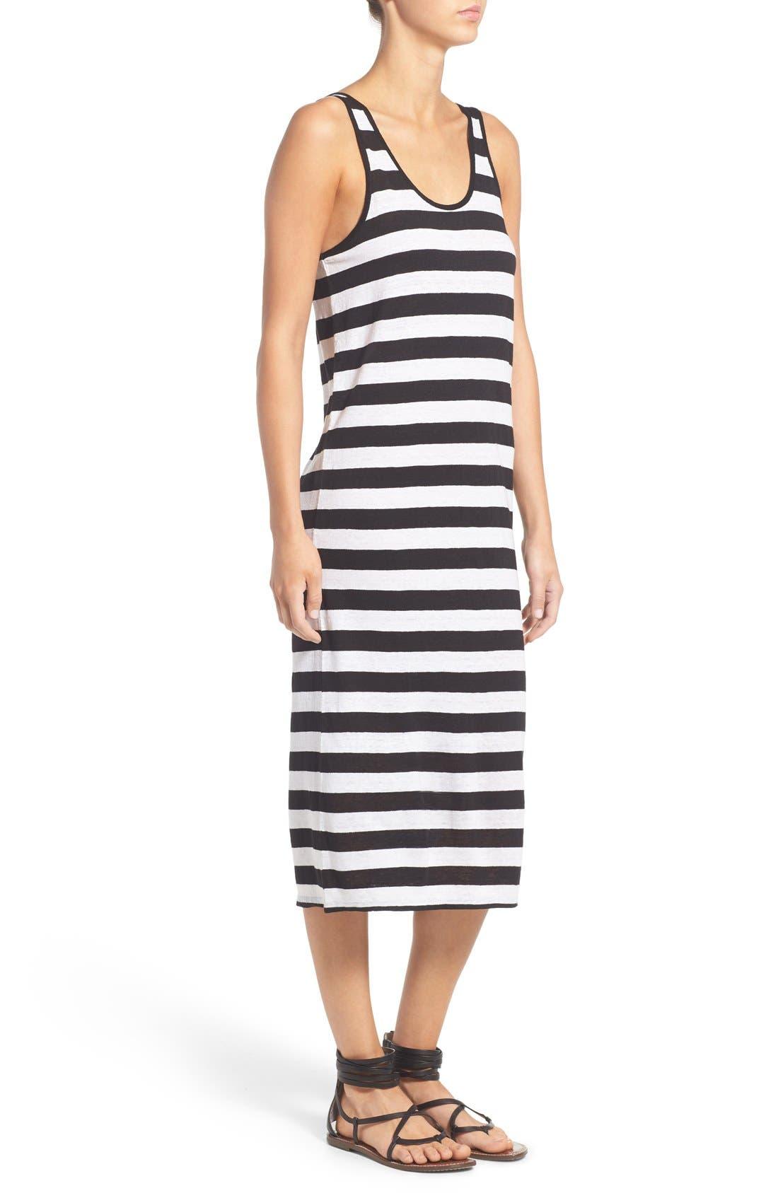 Alternate Image 3  - Joe's 'Weekend' Stripe Linen Midi Dress