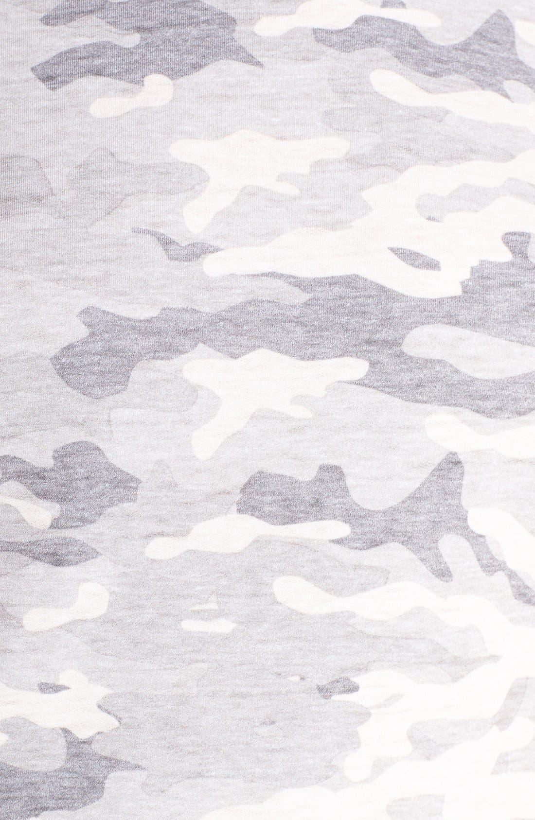 Burnout Lounge Sweatshirt,                             Alternate thumbnail 5, color,                             Grey Camo